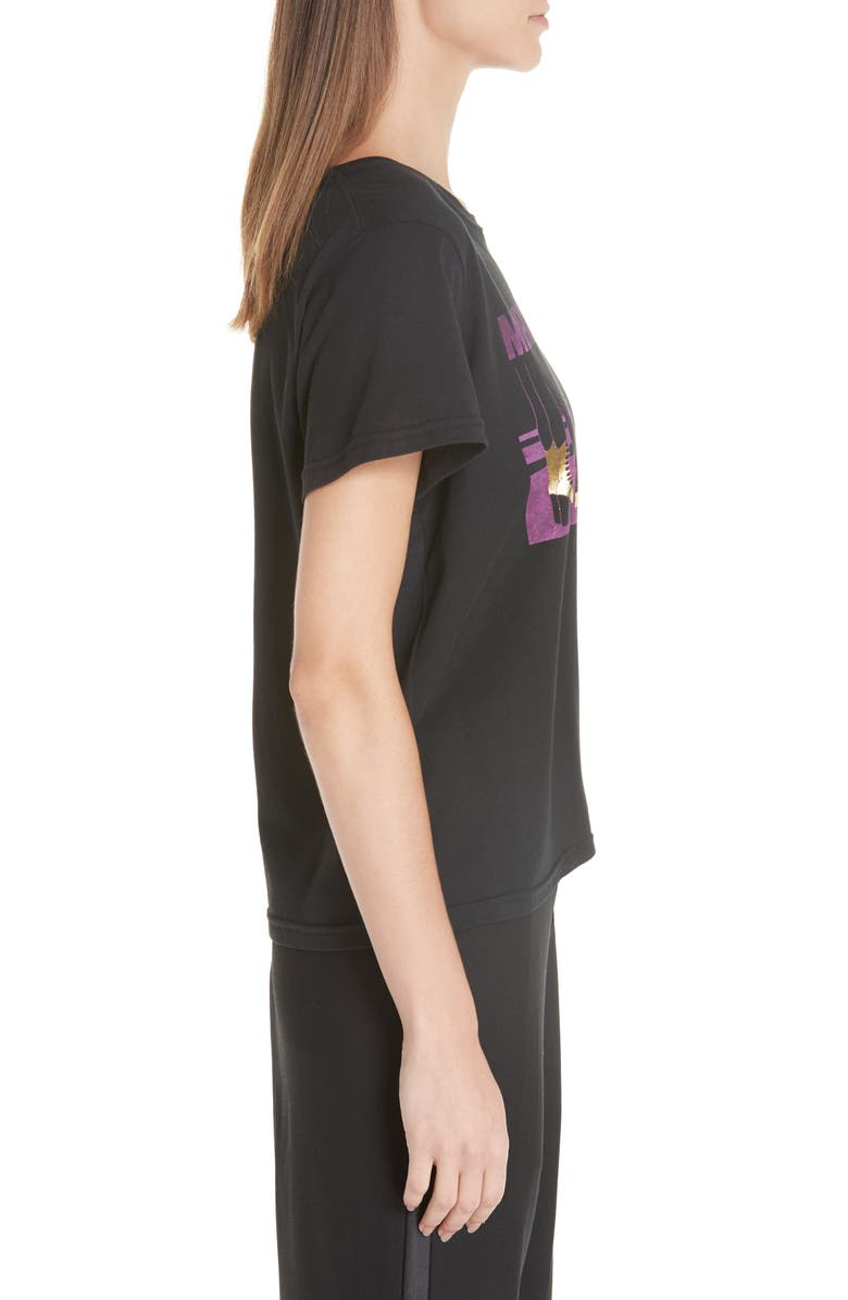 MARC JACOBS Cottons SHOE GRAPHIC TEE