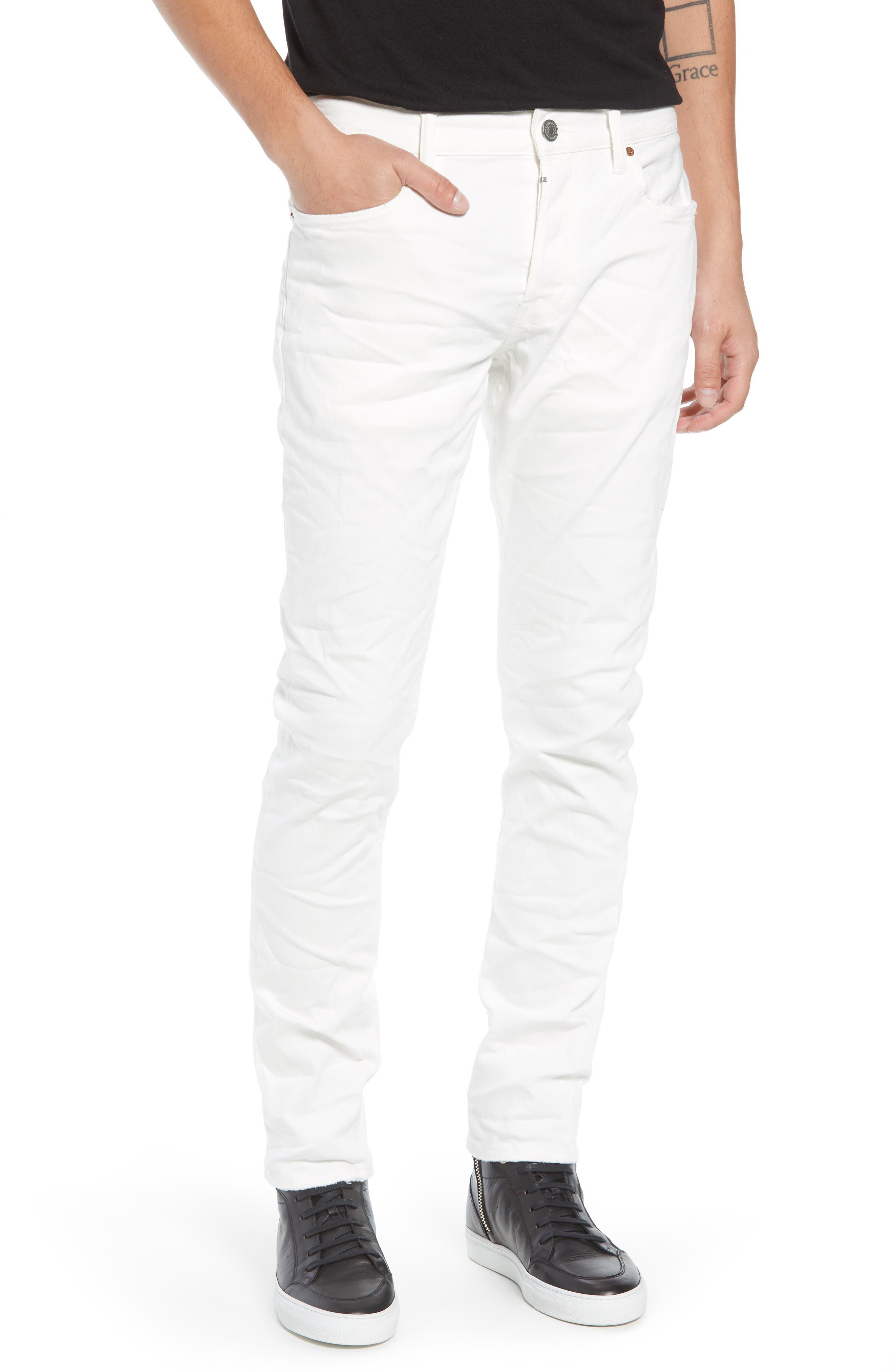 Weott Rex Slim Fit Jeans,                             Main thumbnail 1, color,                             100