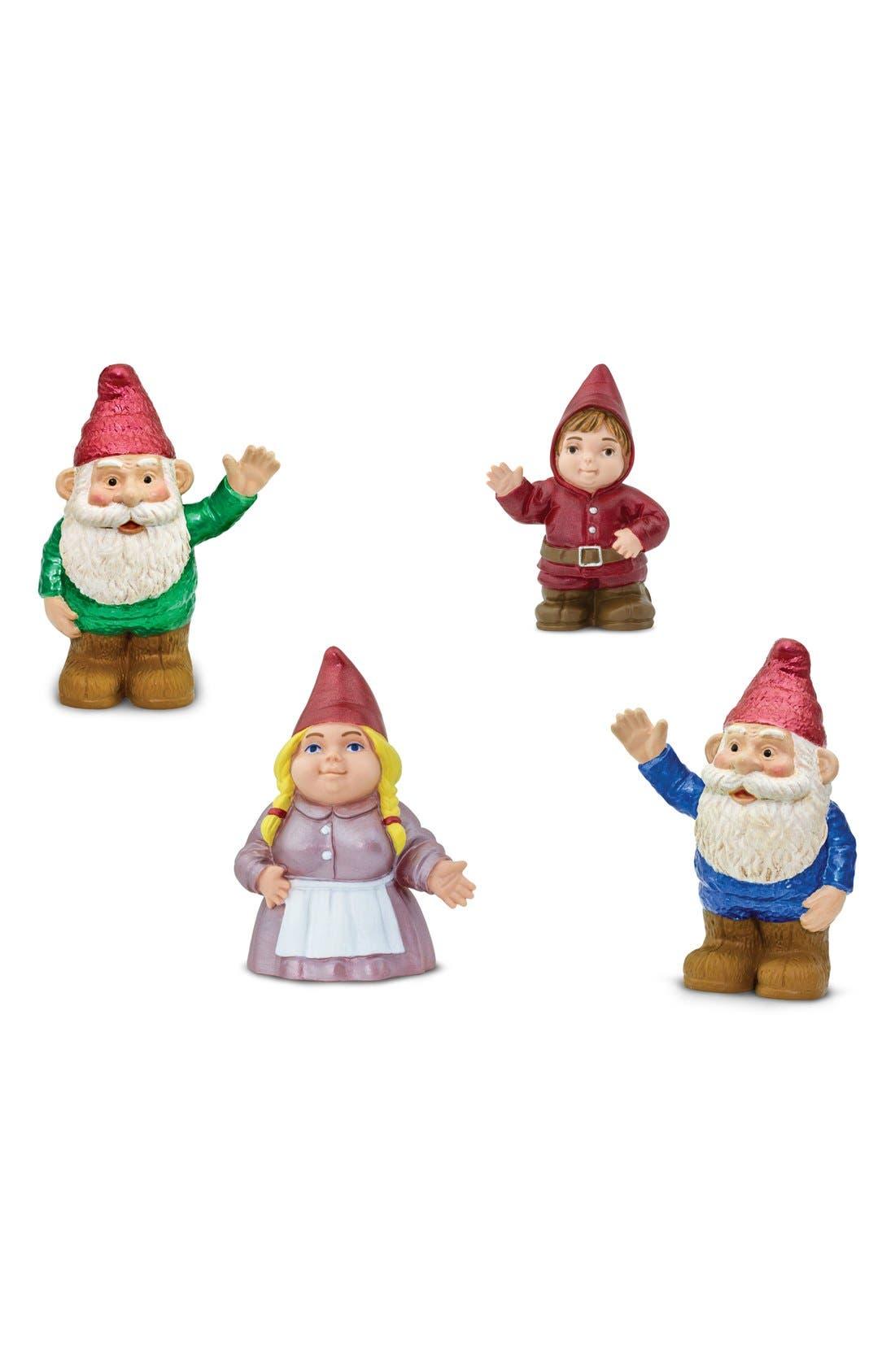 Gnome Family Figurines,                             Main thumbnail 1, color,                             BLUE