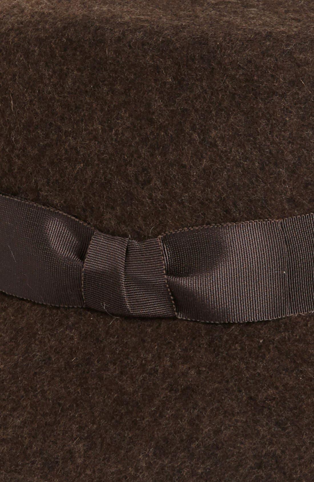 'Kim' Wool Fedora,                             Alternate thumbnail 9, color,