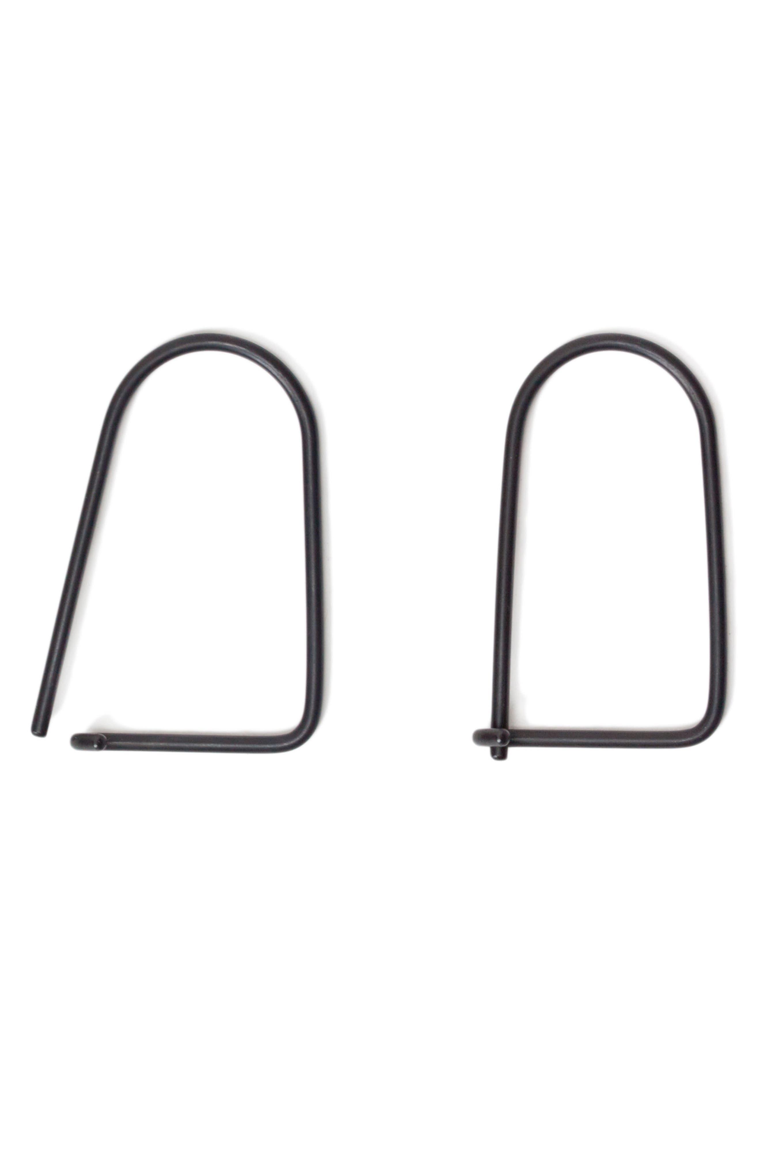 Wilson Carbon Black Steel Key Ring,                             Alternate thumbnail 3, color,                             040