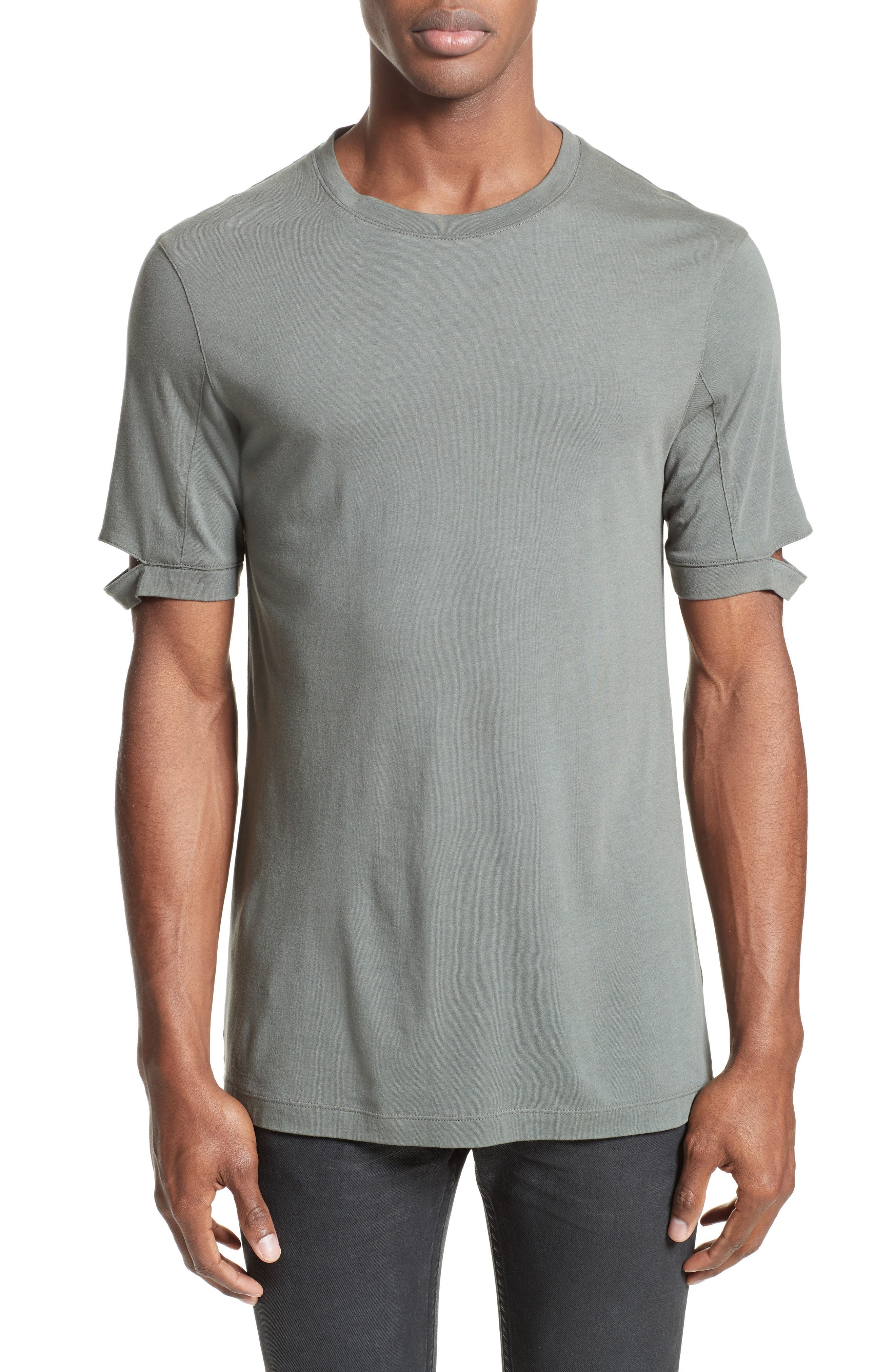 Sliced Sleeve T-Shirt,                             Main thumbnail 1, color,                             381