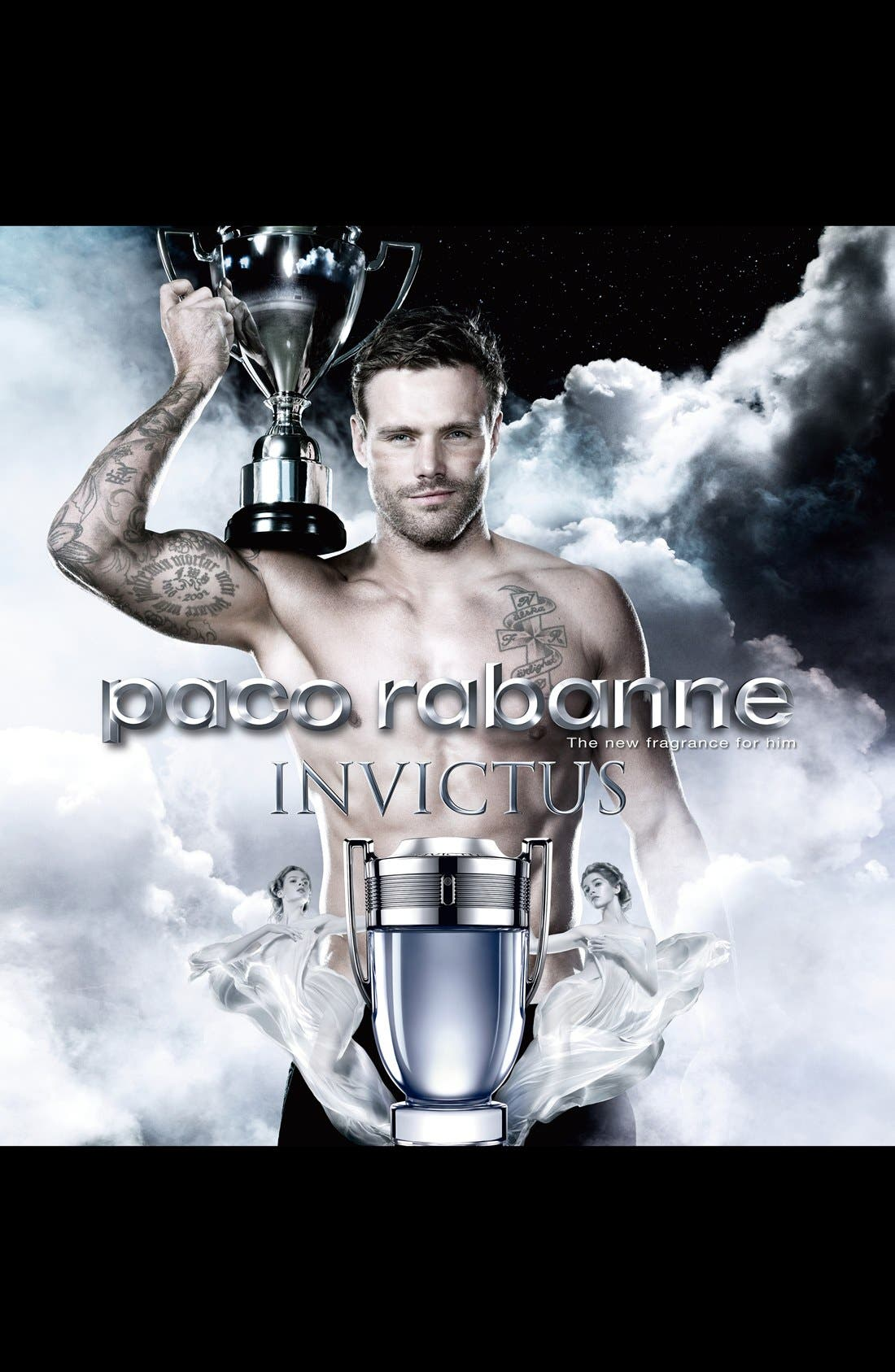 paco rabanne 'Invictus' After Shave Balm,                             Alternate thumbnail 2, color,                             NO COLOR