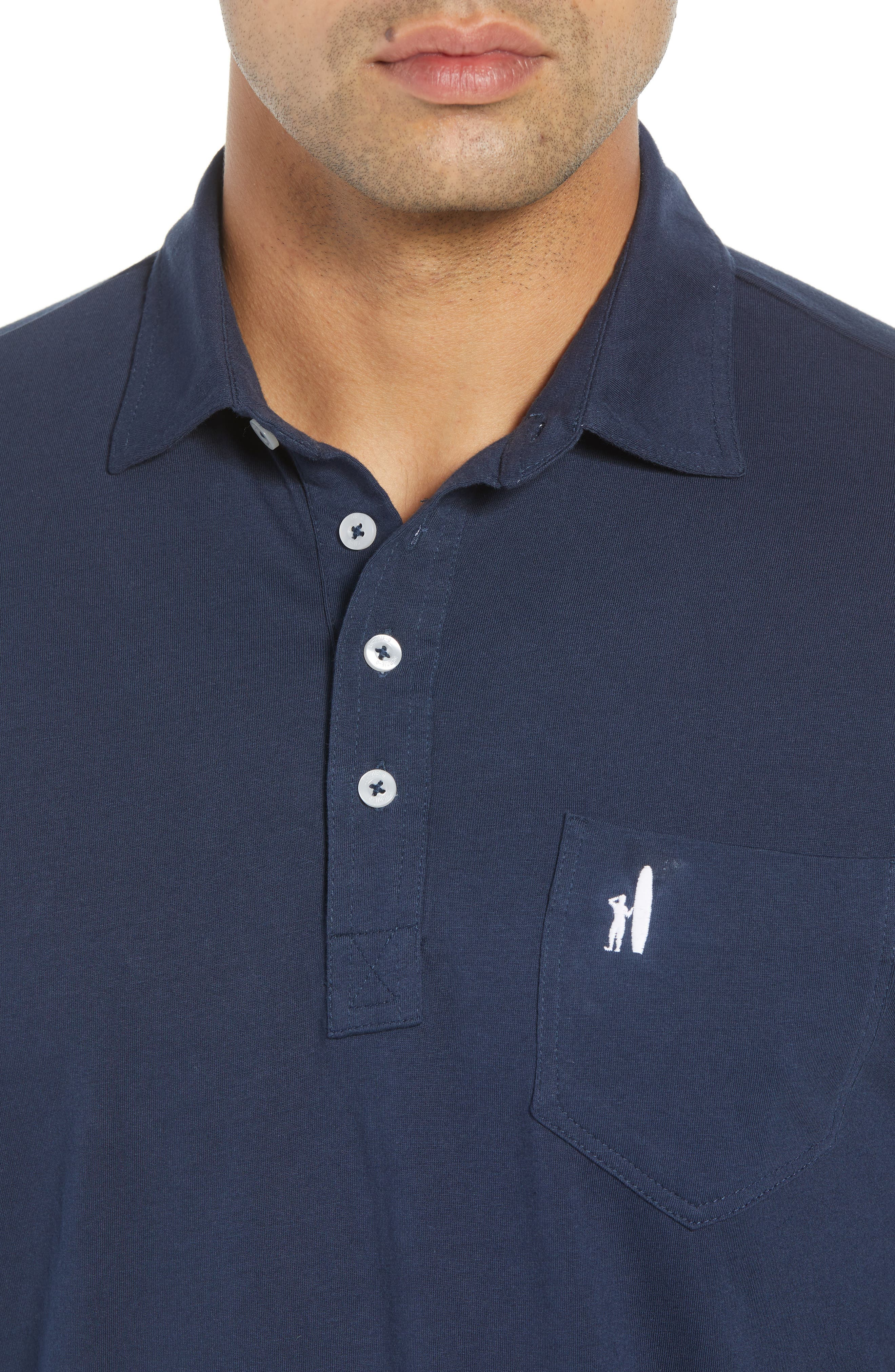 The Original Classic Fit Polo,                             Alternate thumbnail 4, color,                             NAVY