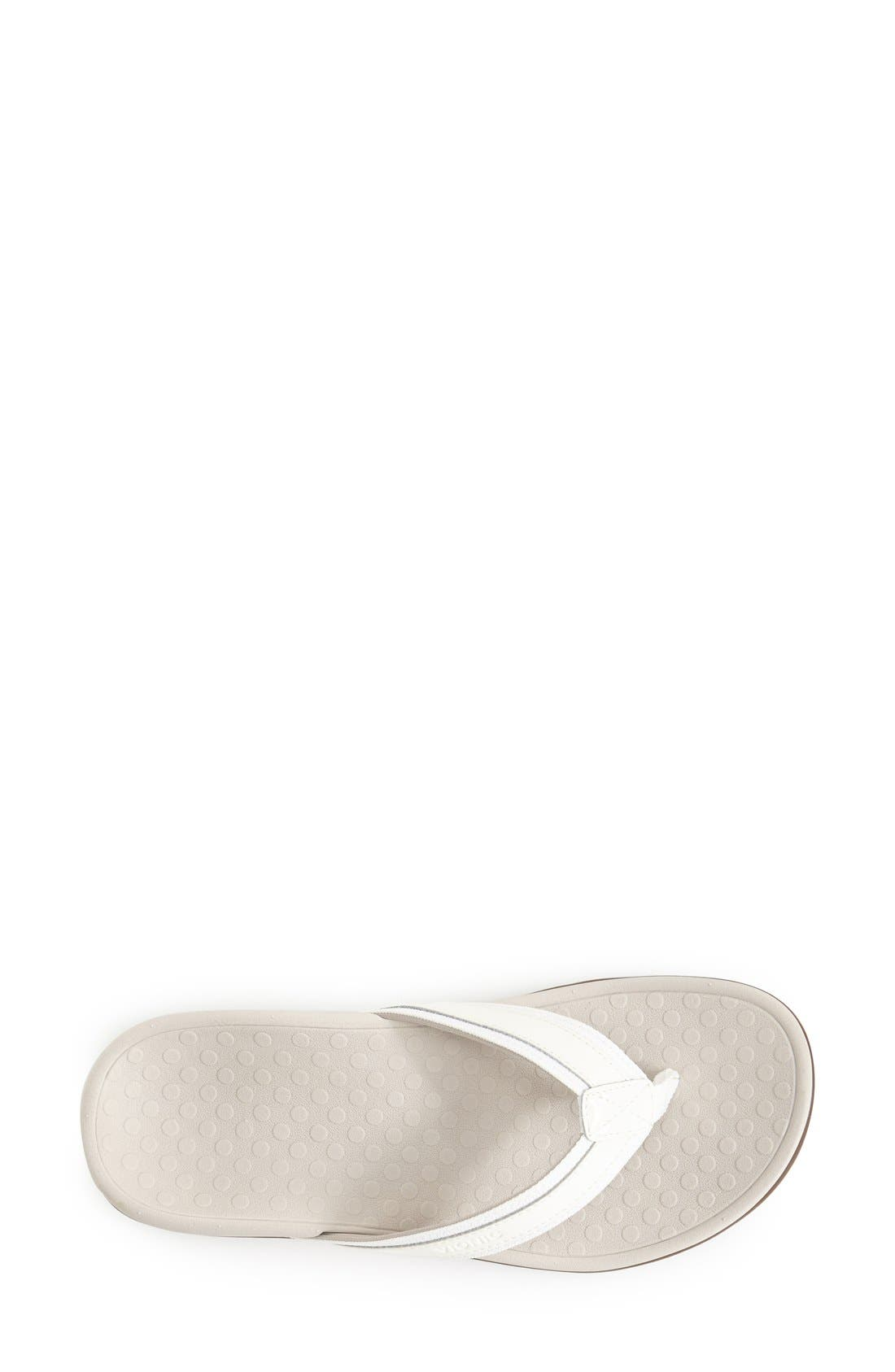 'Tide II' Flip Flop,                             Alternate thumbnail 3, color,                             WHITE