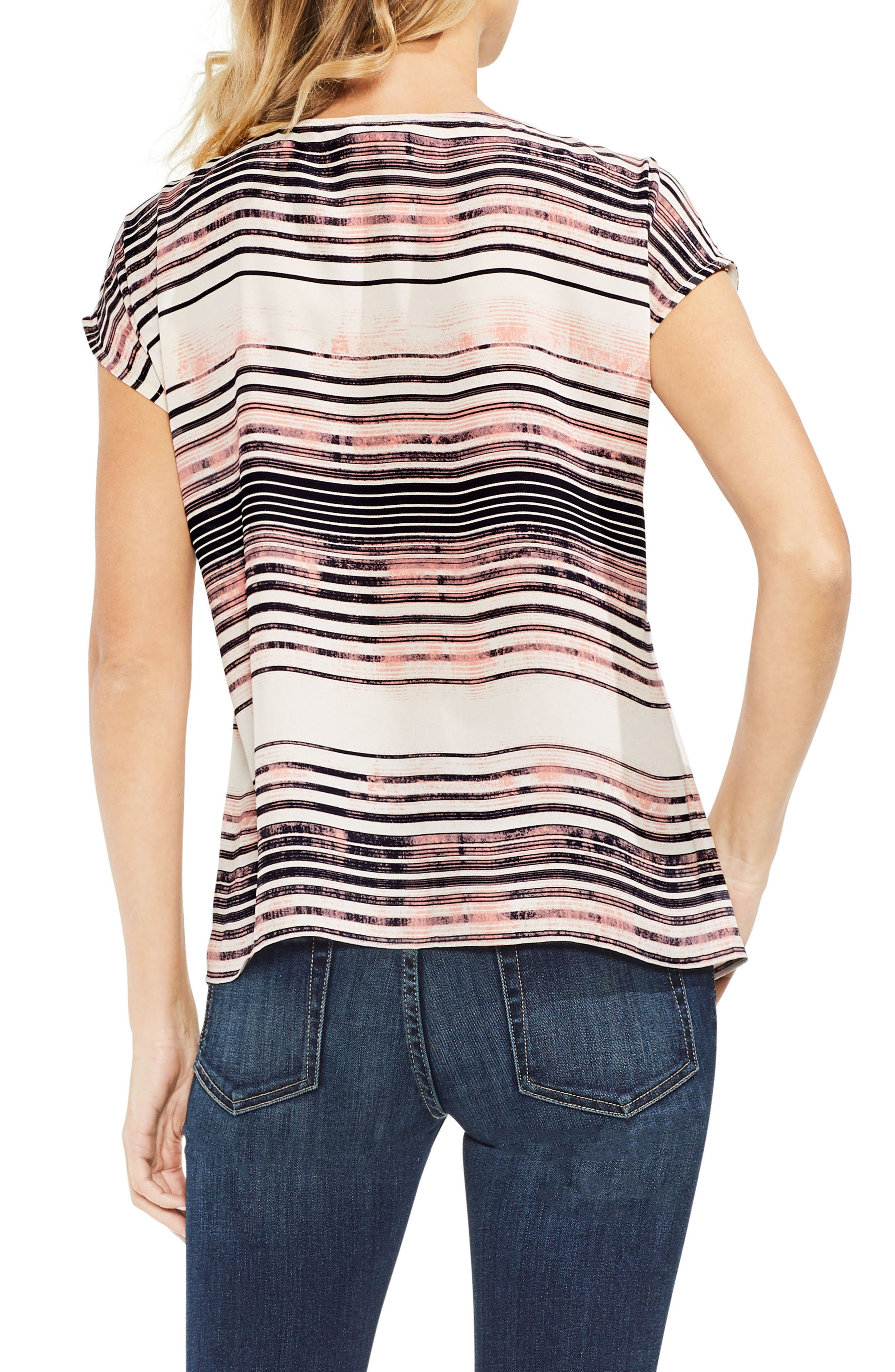Ancient Muses Stripe Top,                             Alternate thumbnail 2, color,                             900
