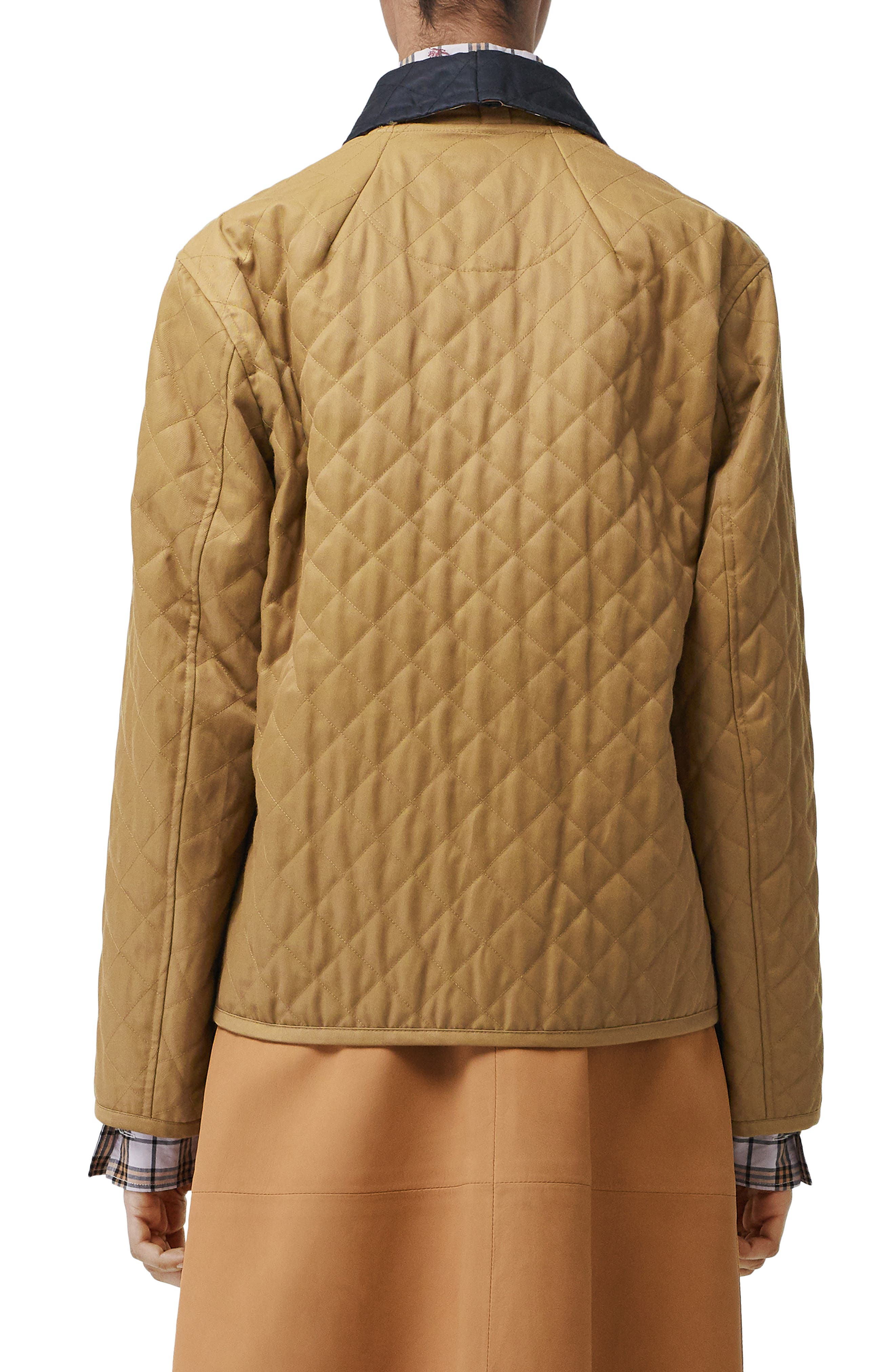 Dranefeld Quilted Jacket,                             Alternate thumbnail 2, color,                             CAMEL