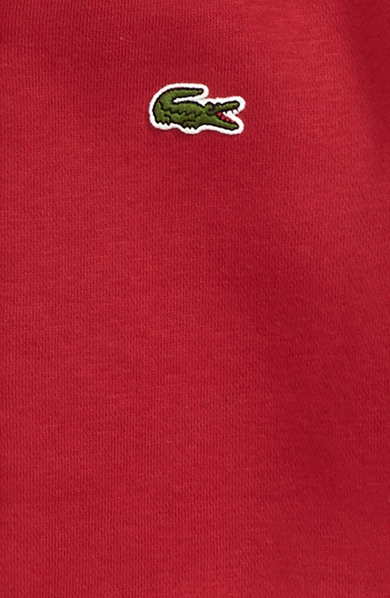 Fleece Hoodie,                             Alternate thumbnail 2, color,                             LIGHTHOUSE RED