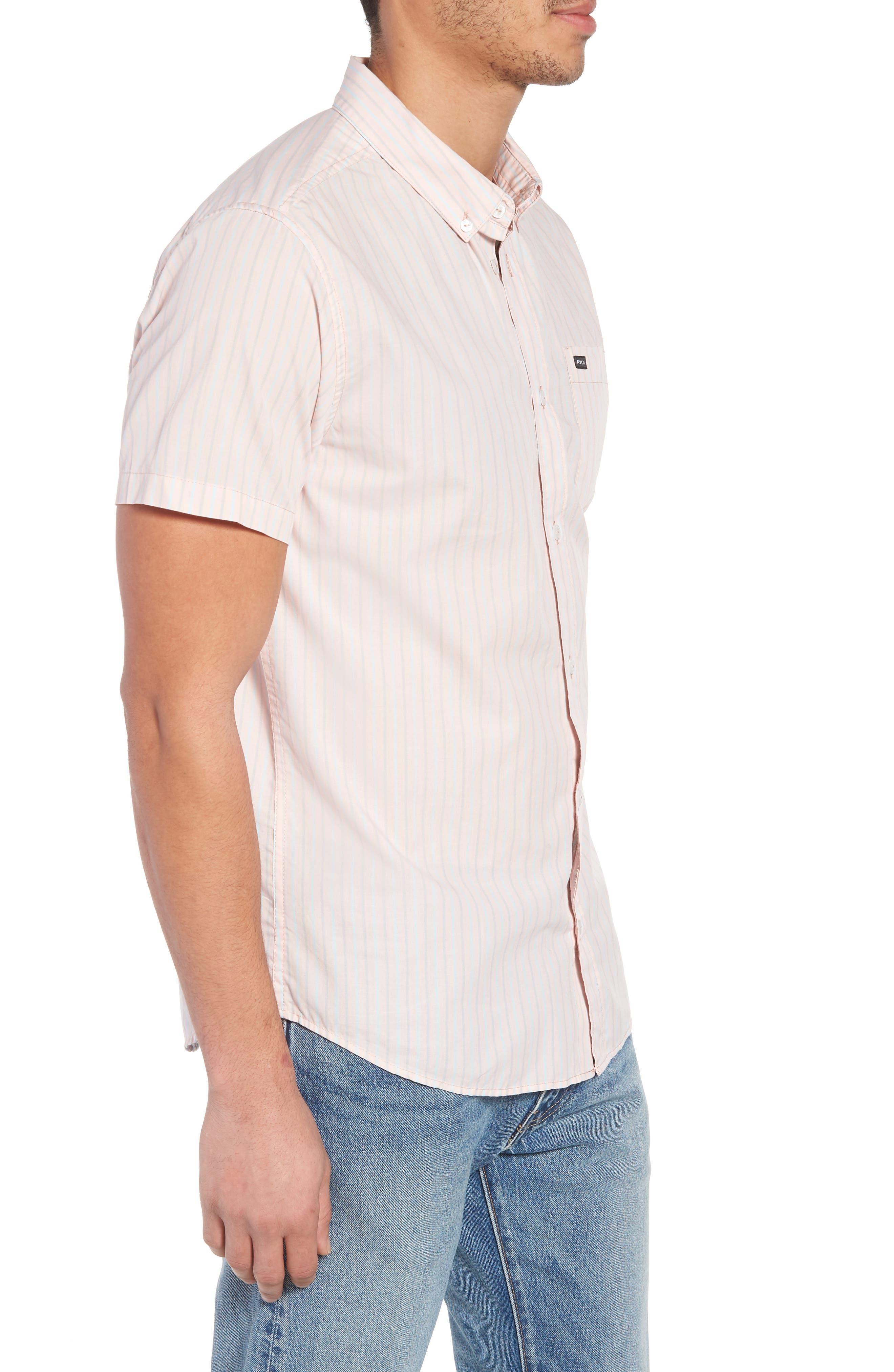 Everyday Stripe Shirt,                             Alternate thumbnail 3, color,                             653