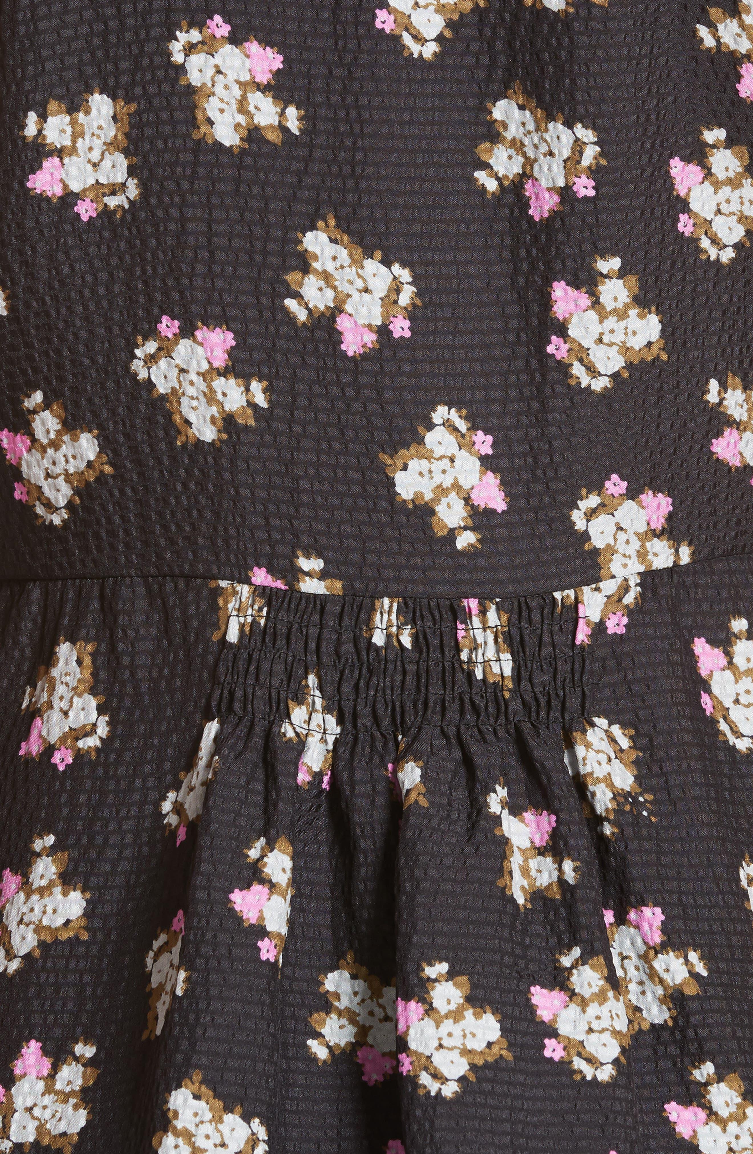 Mini Rosa Peplum Silk Blouse,                             Alternate thumbnail 5, color,                             014