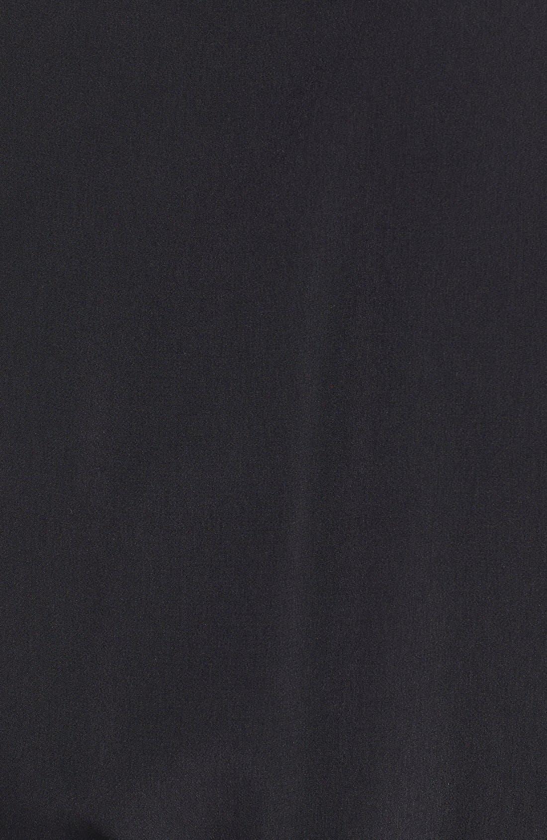 Short Sleeve Jumpsuit,                             Alternate thumbnail 3, color,                             001