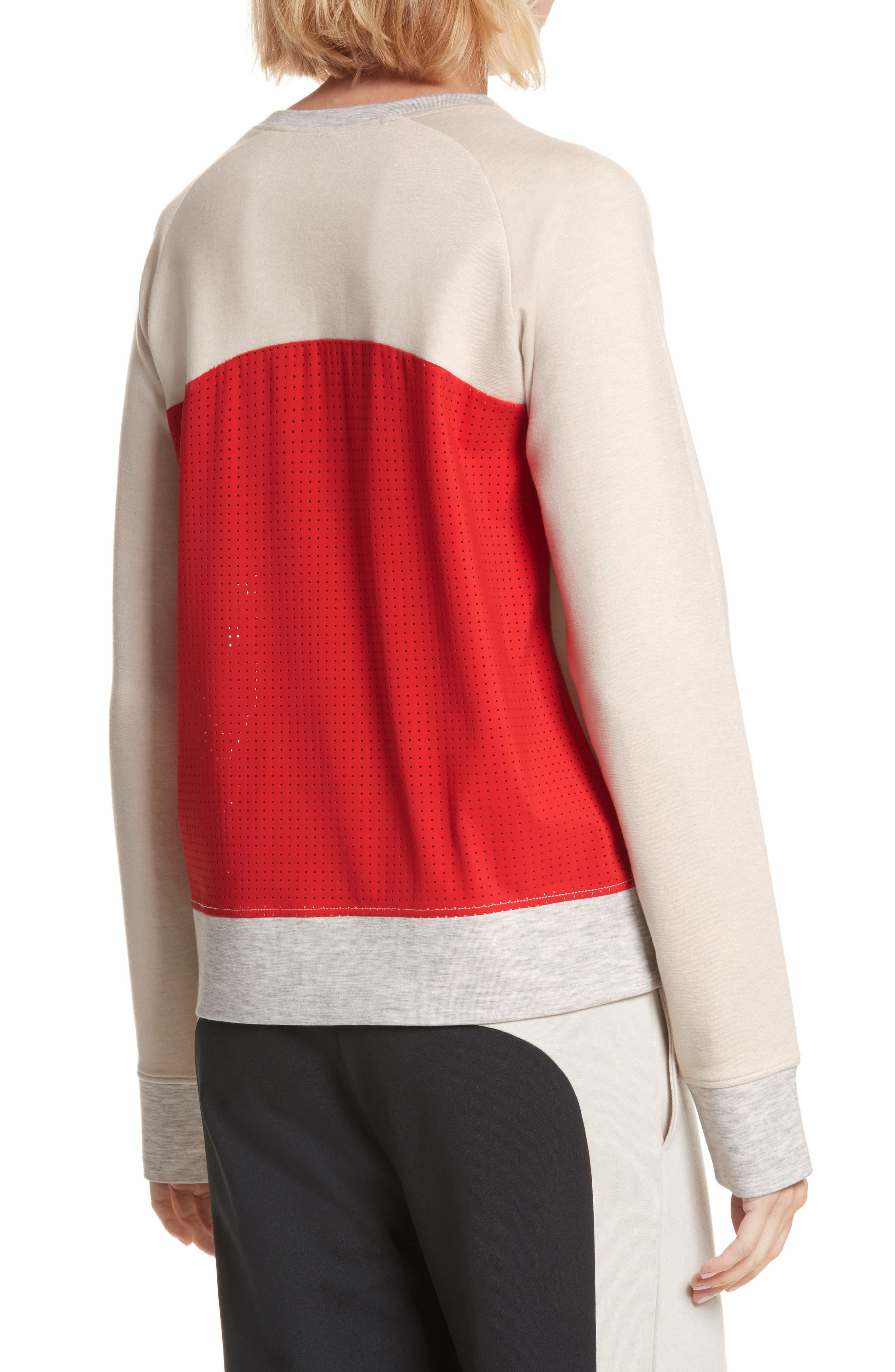 Zip Combo Sweatshirt,                             Alternate thumbnail 2, color,