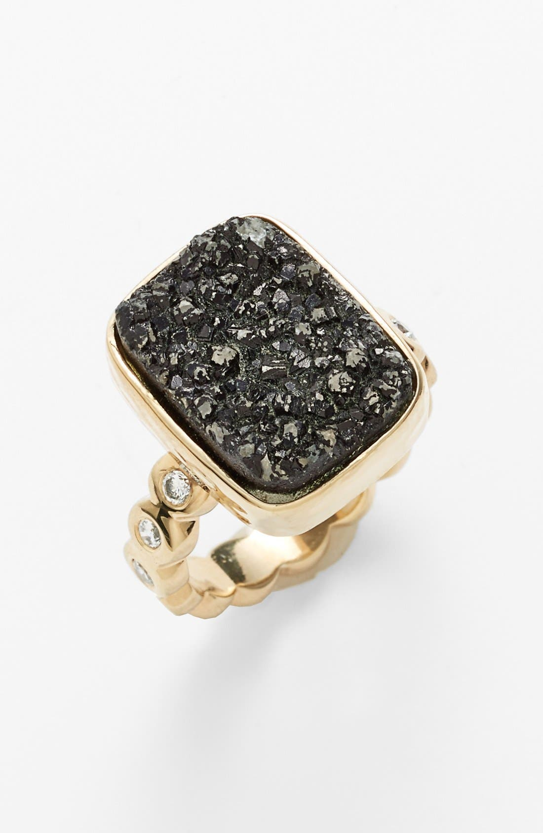 'Electra' Drusy Ring,                         Main,                         color, 710