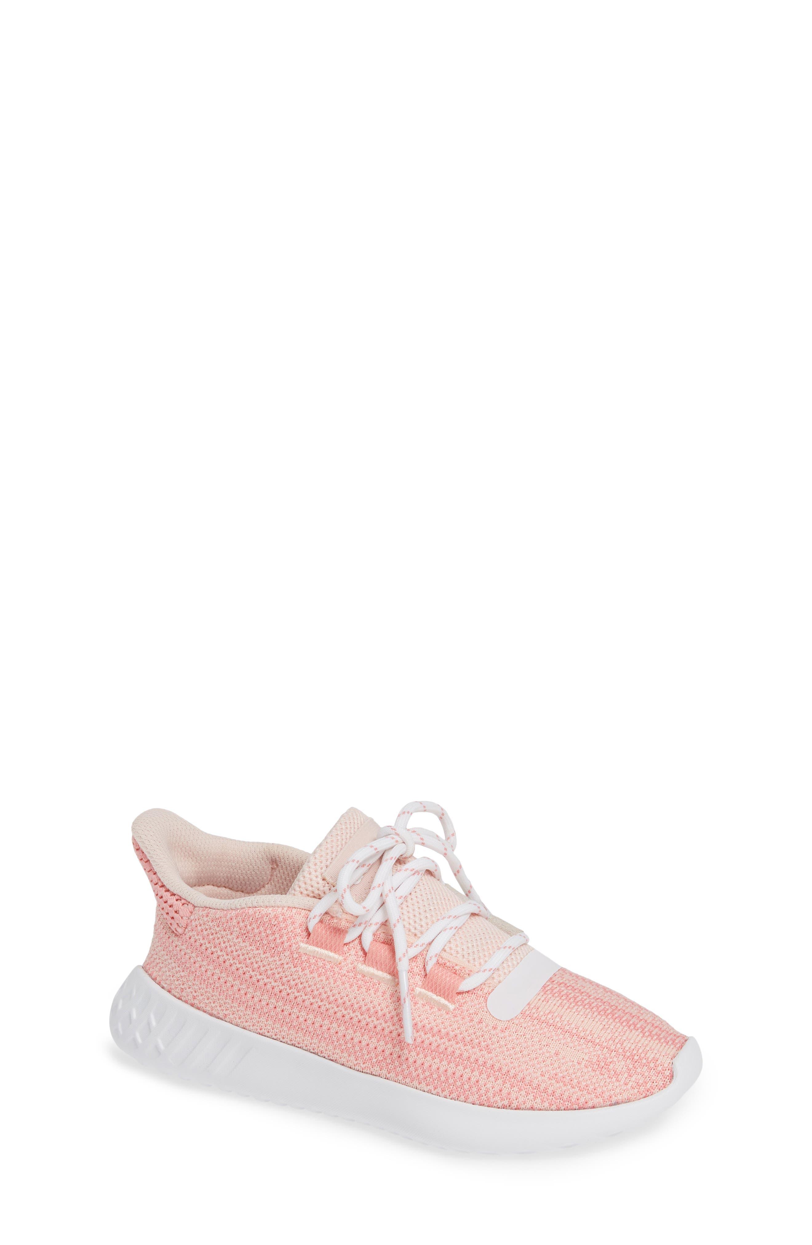 Infant Boys Adidas Tubular Dusk Primeknit Sneaker Size 4 M  Pink