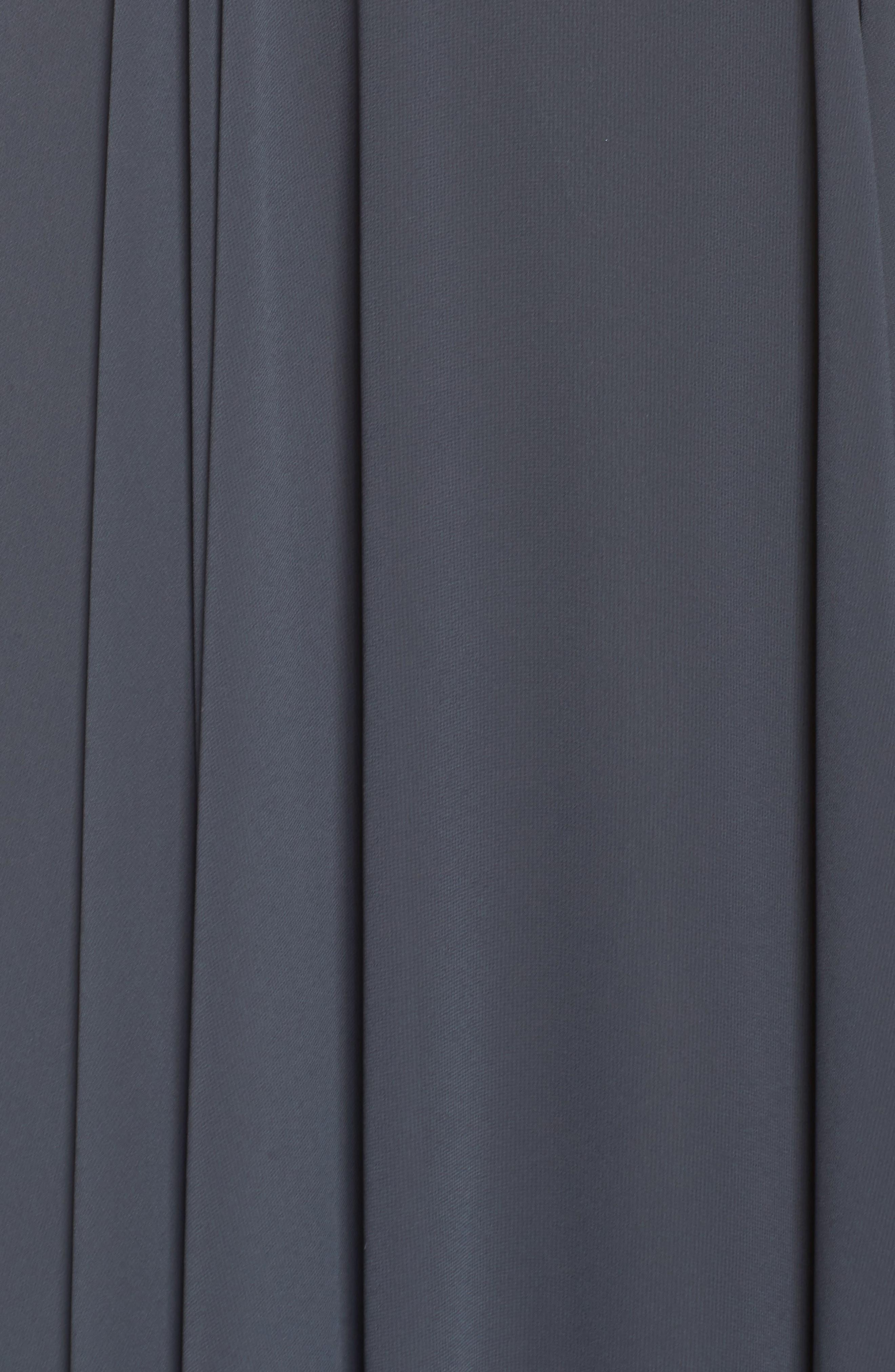Elizabeth Chiffon Gown,                             Alternate thumbnail 6, color,                             026