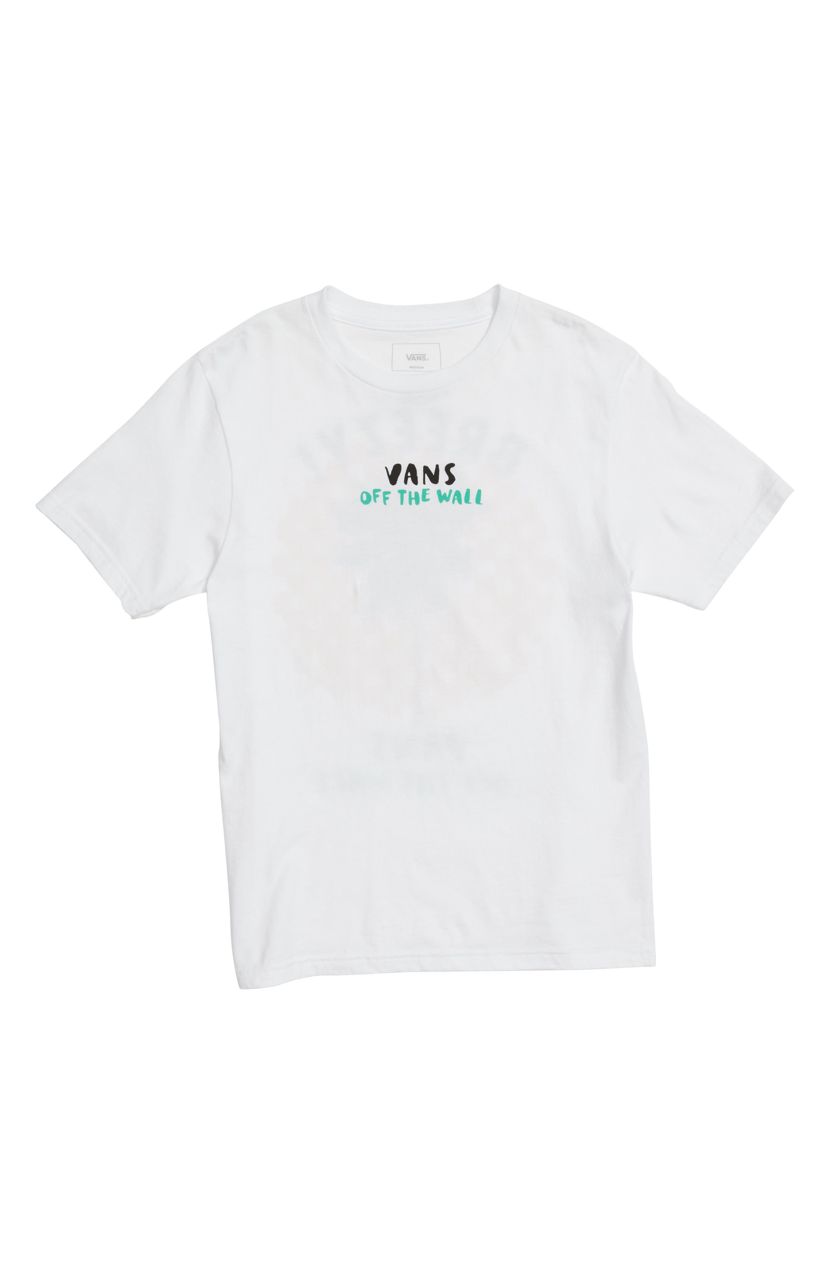 VANS Stay Breezy Graphic T-Shirt, Main, color, 100