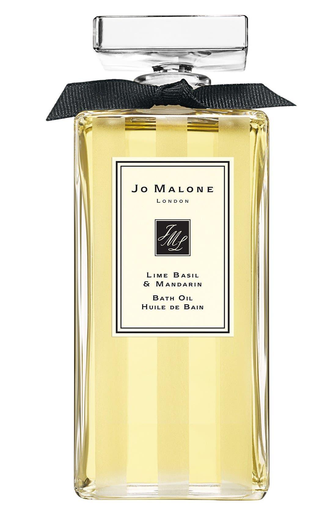 Jo Malone<sup>™</sup> 'Lime Basil & Mandarin' Bath Oil,                             Main thumbnail 1, color,                             NO COLOR