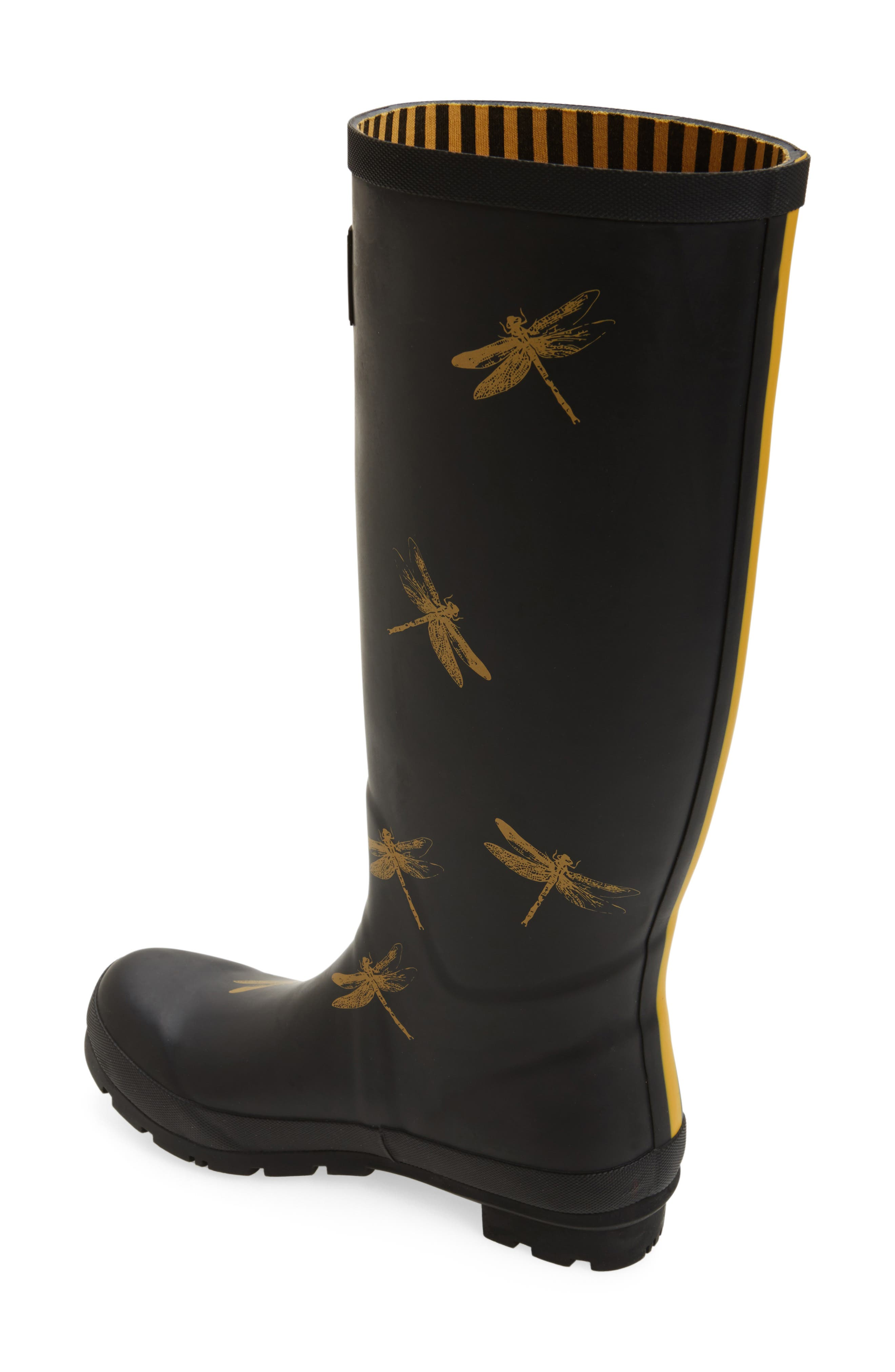 'Welly' Print Rain Boot,                             Alternate thumbnail 50, color,
