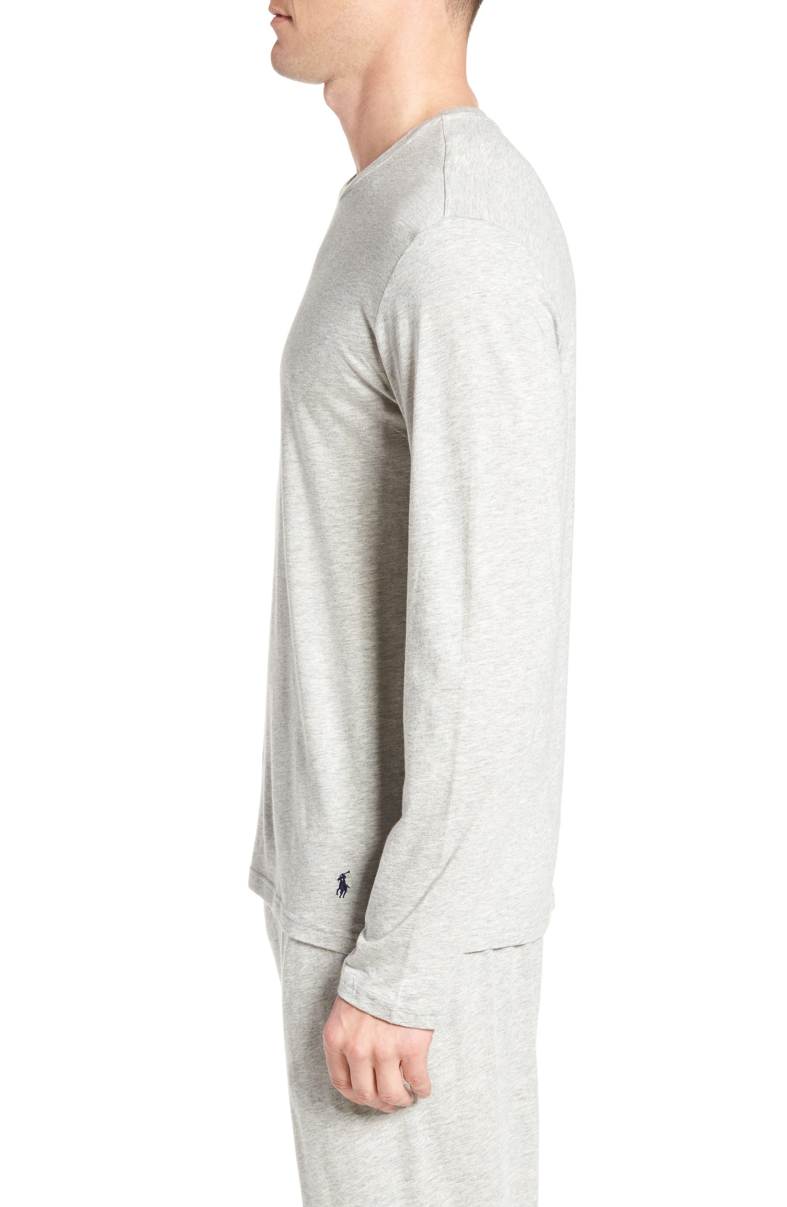 Supreme Comfort Cotton & Modal T-Shirt,                             Alternate thumbnail 3, color,                             024