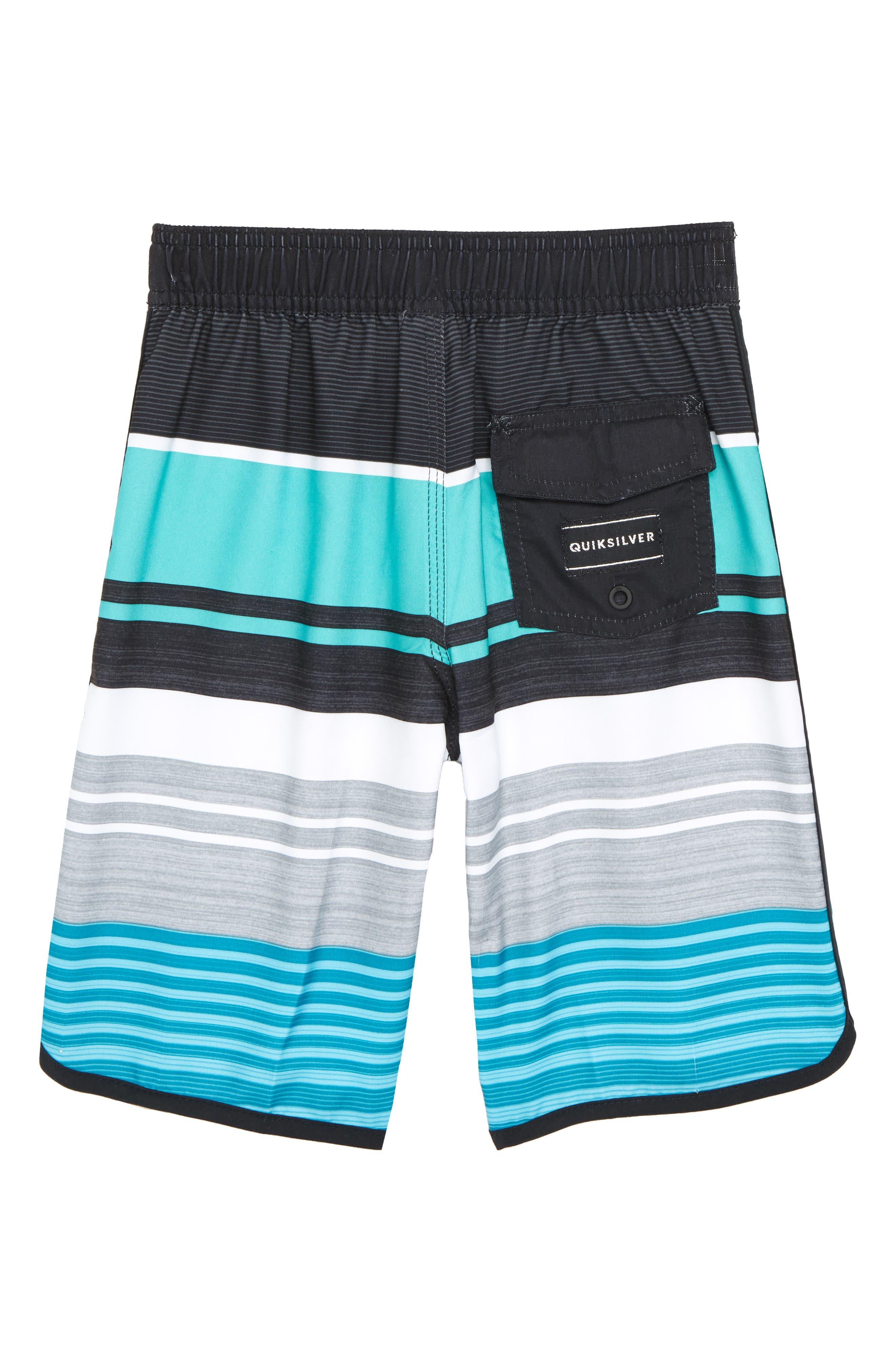 Eye Scallop Board Shorts,                             Alternate thumbnail 2, color,                             TYPHOON