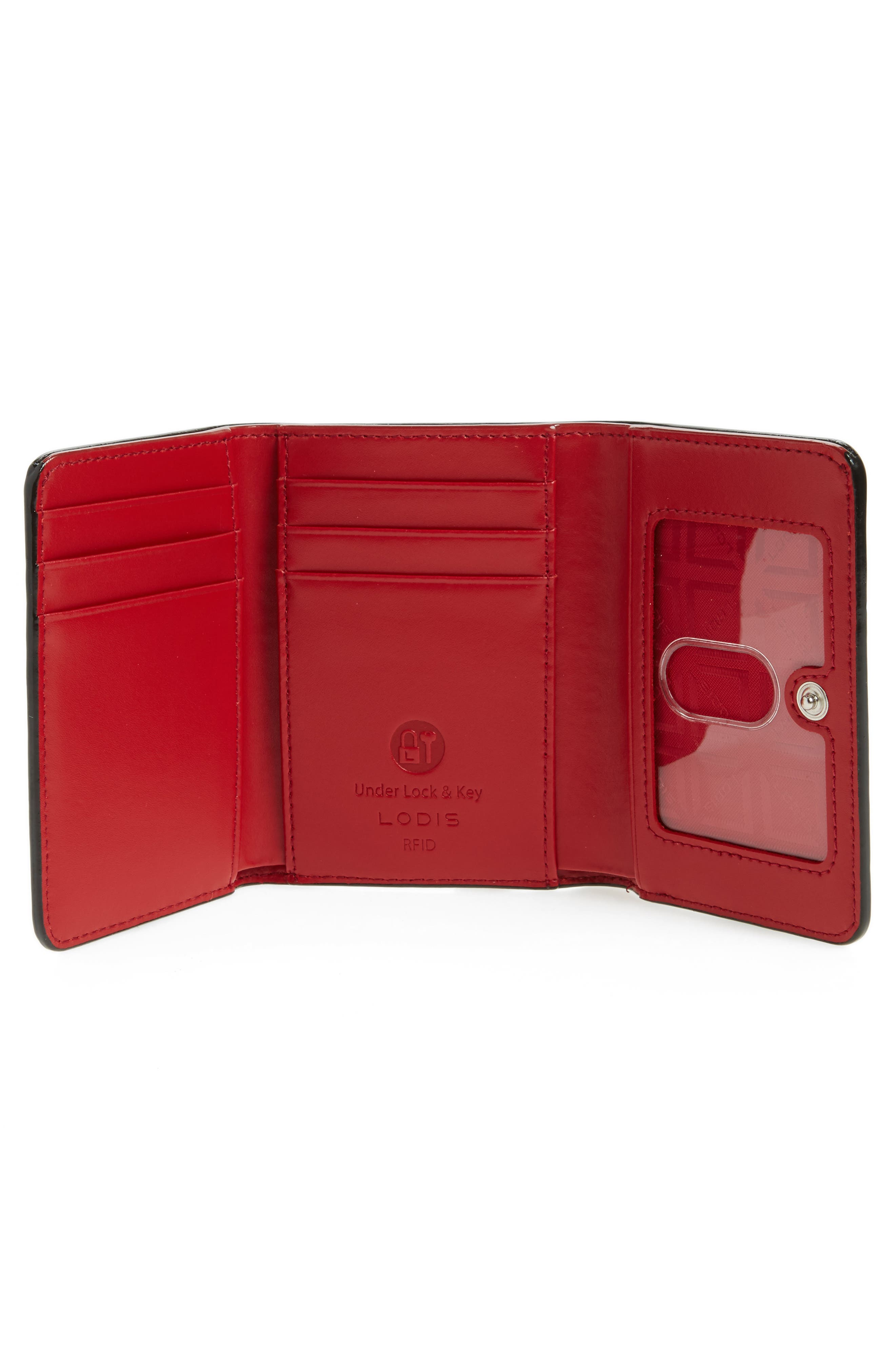 Mallory RFID Leather Wallet,                             Alternate thumbnail 2, color,                             600