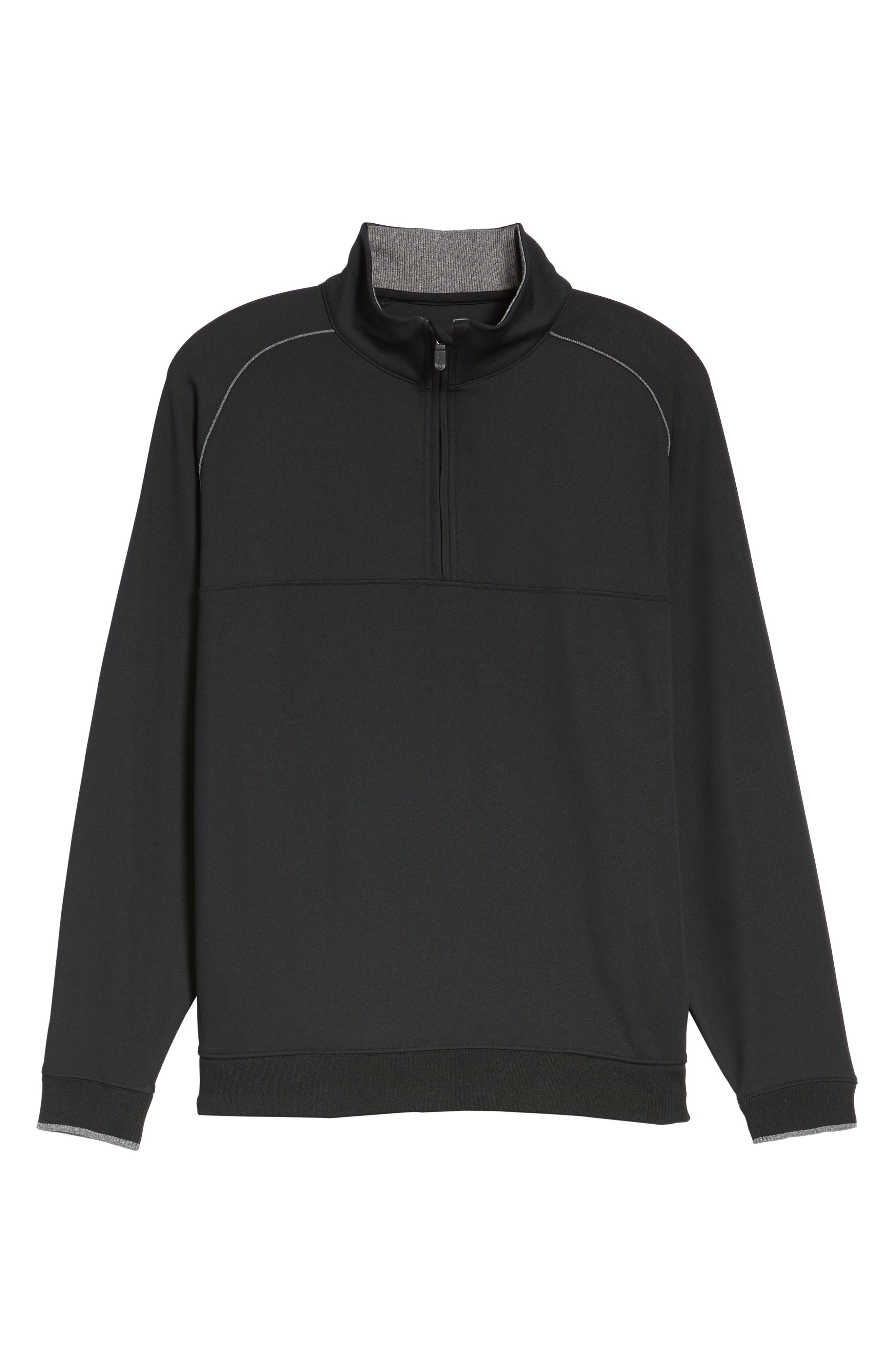 XH20 Banded Bottom Pullover,                             Alternate thumbnail 6, color,                             001