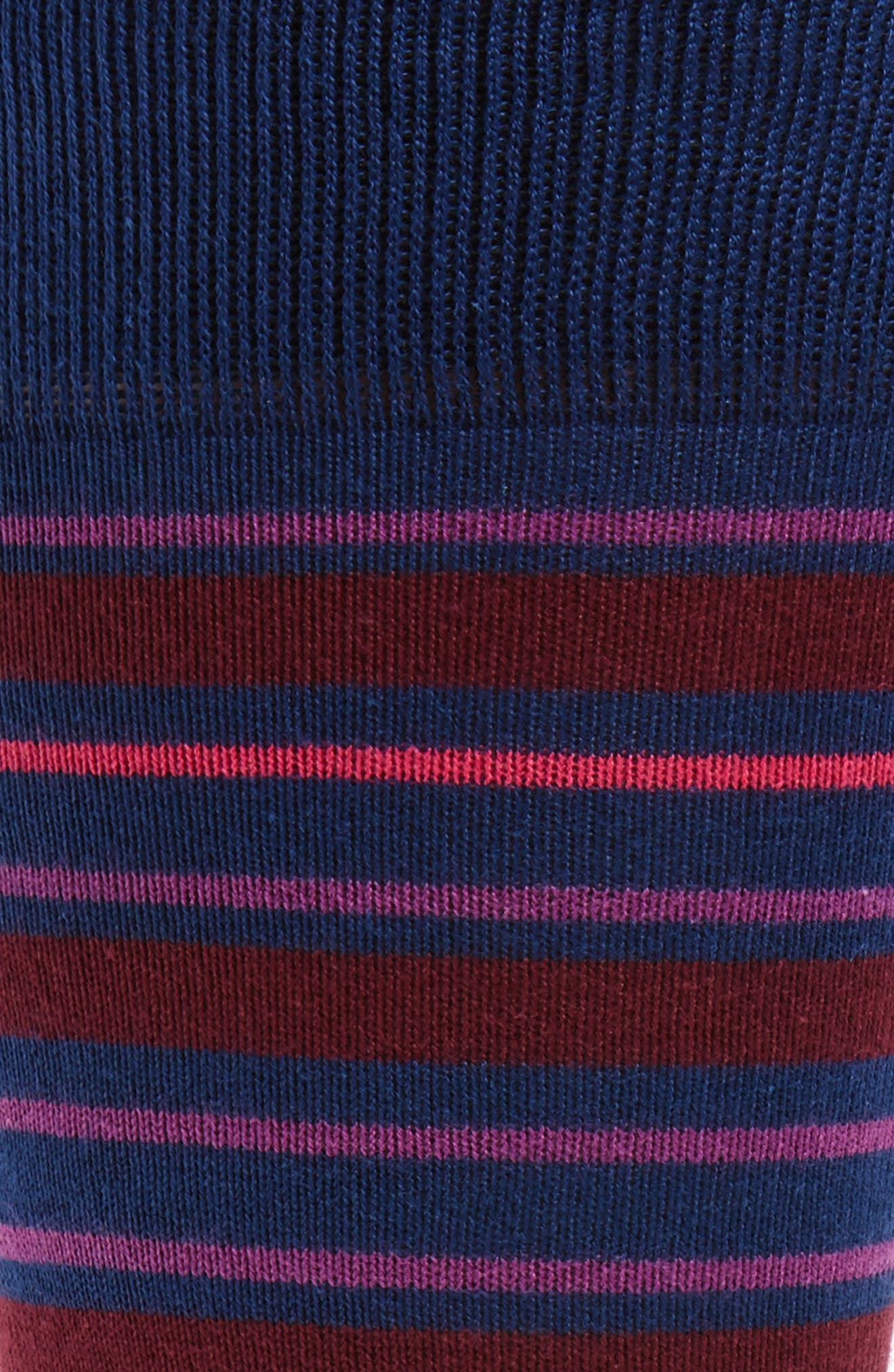 Fern Stripe Socks,                             Alternate thumbnail 2, color,                             415