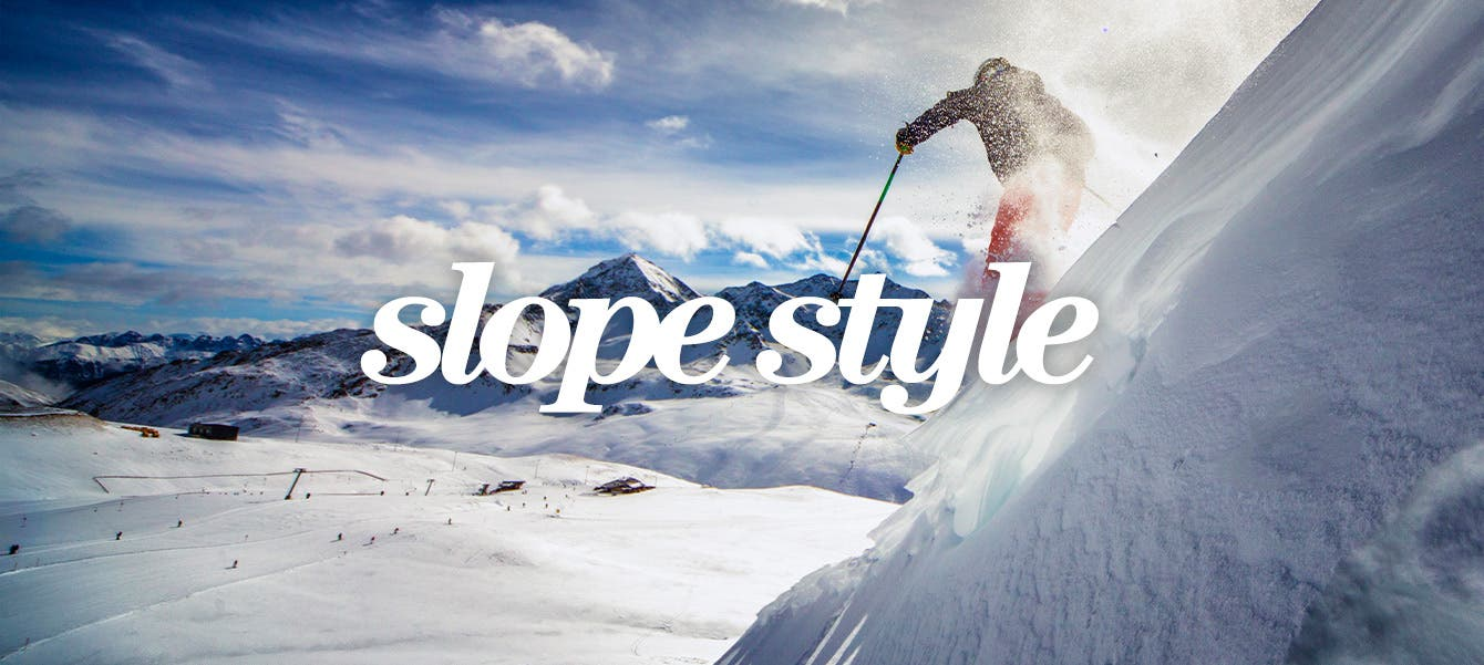 Slope style: strictly professional.