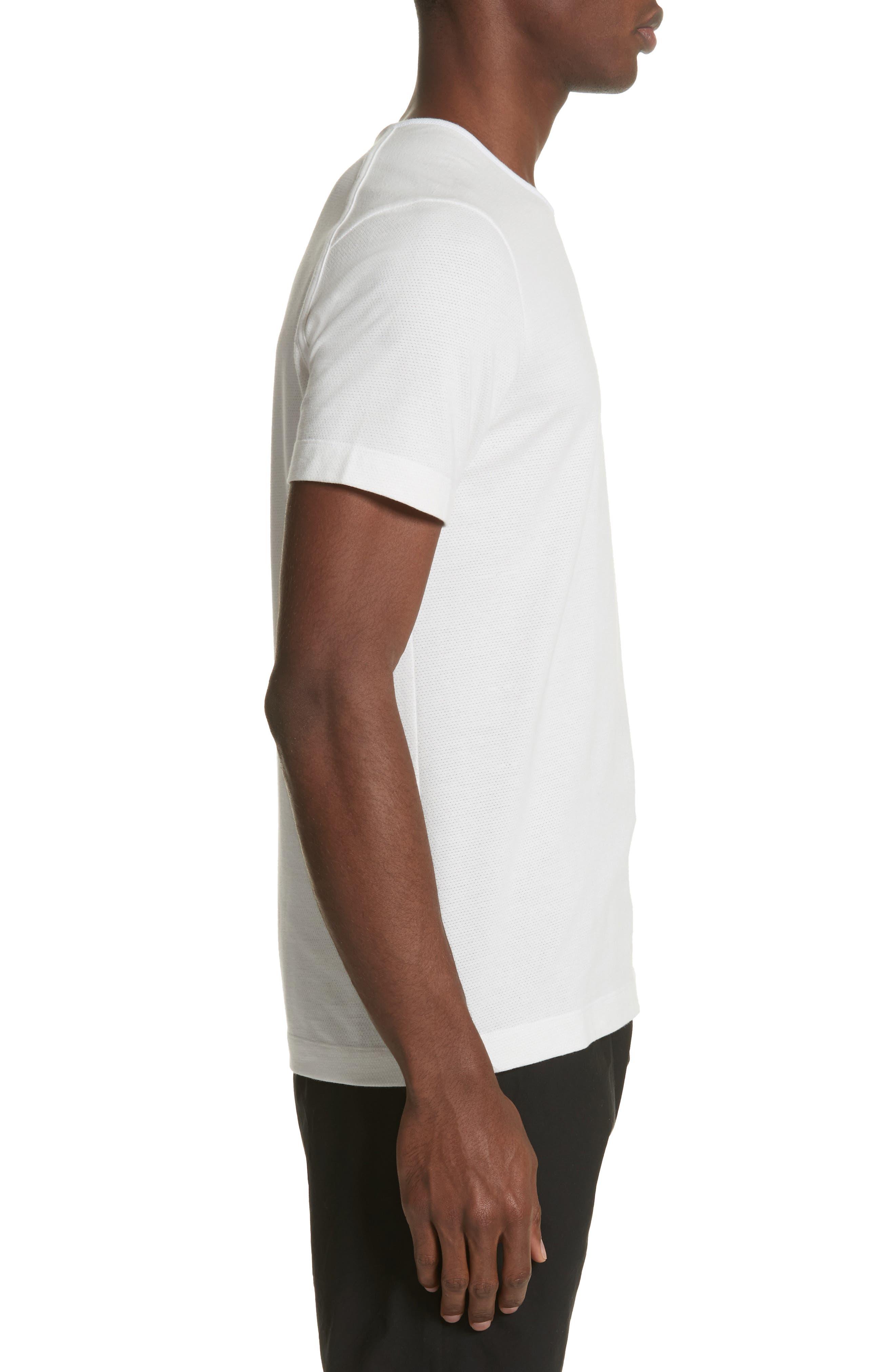 Mesh Jersey T-Shirt,                             Alternate thumbnail 3, color,                             105