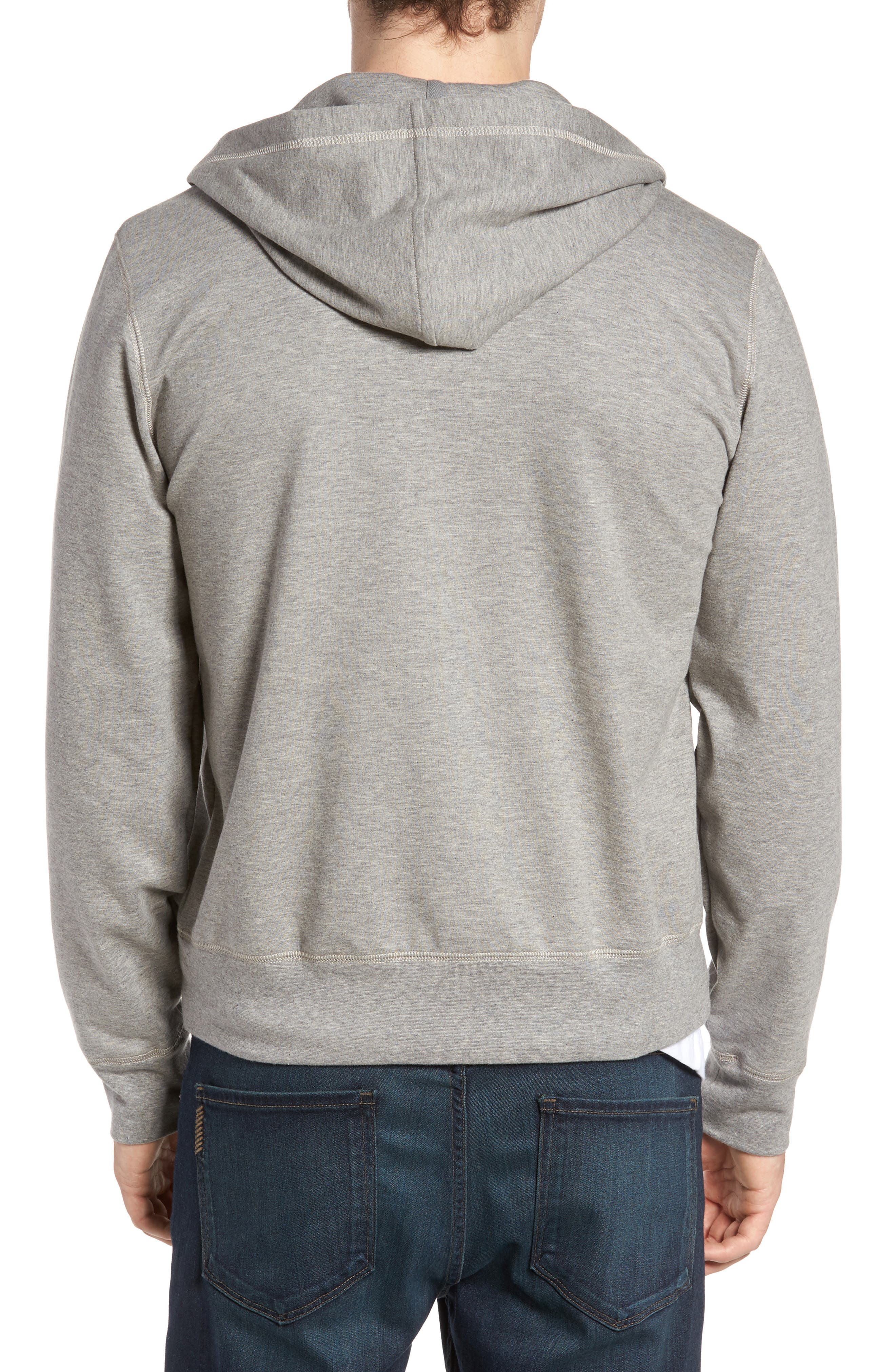Zip Hoodie,                             Alternate thumbnail 3, color,