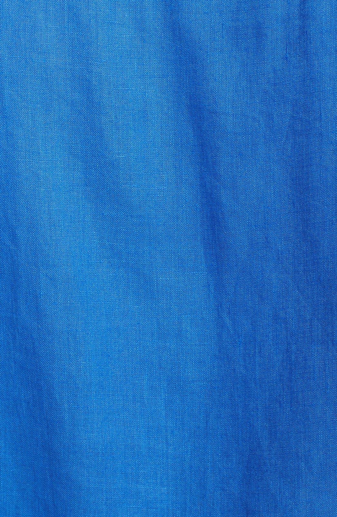'Caroubier' Linen Shirt,                             Alternate thumbnail 37, color,
