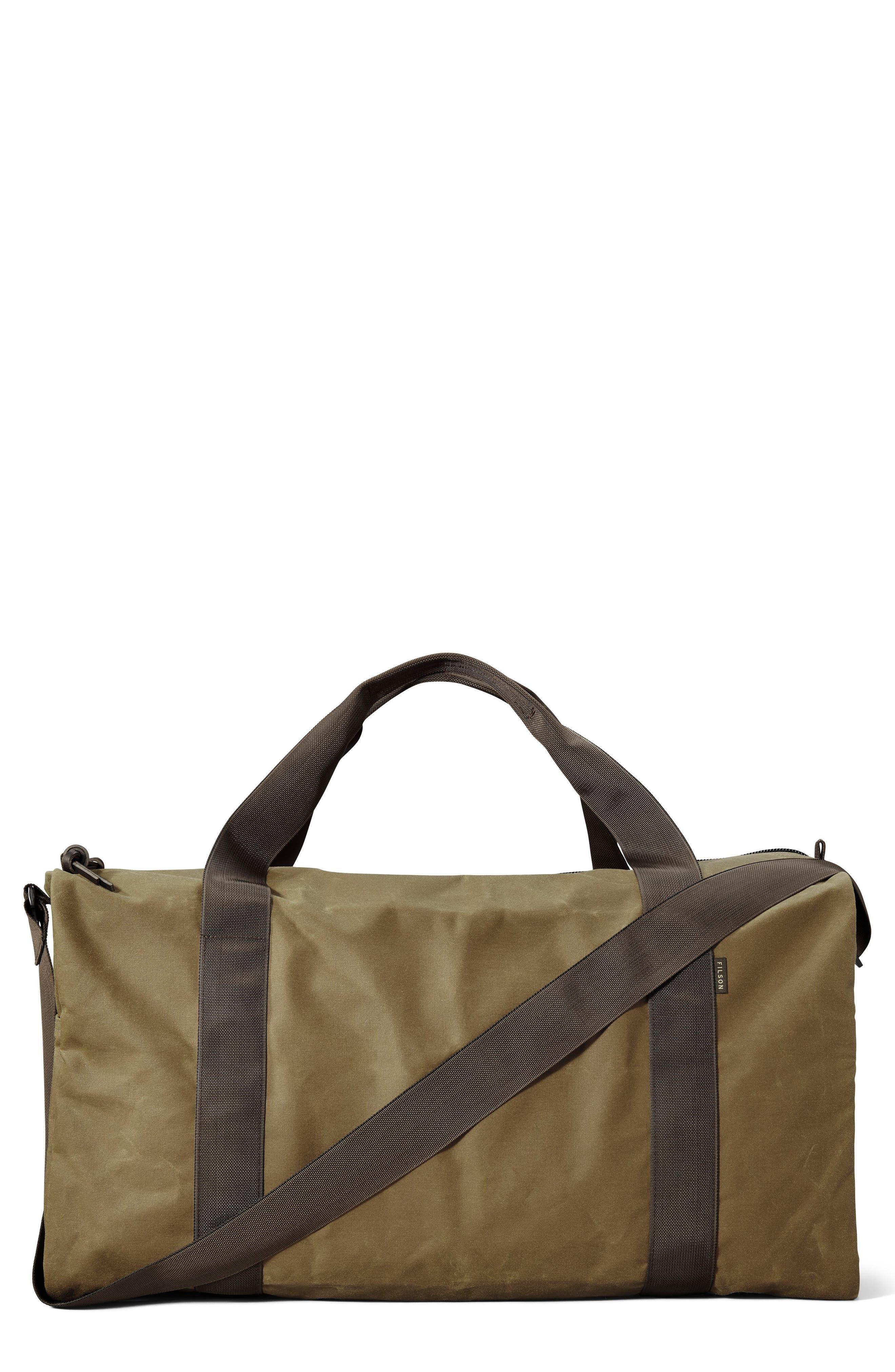 Medium Field Duffel Bag,                         Main,                         color, DARK TAN