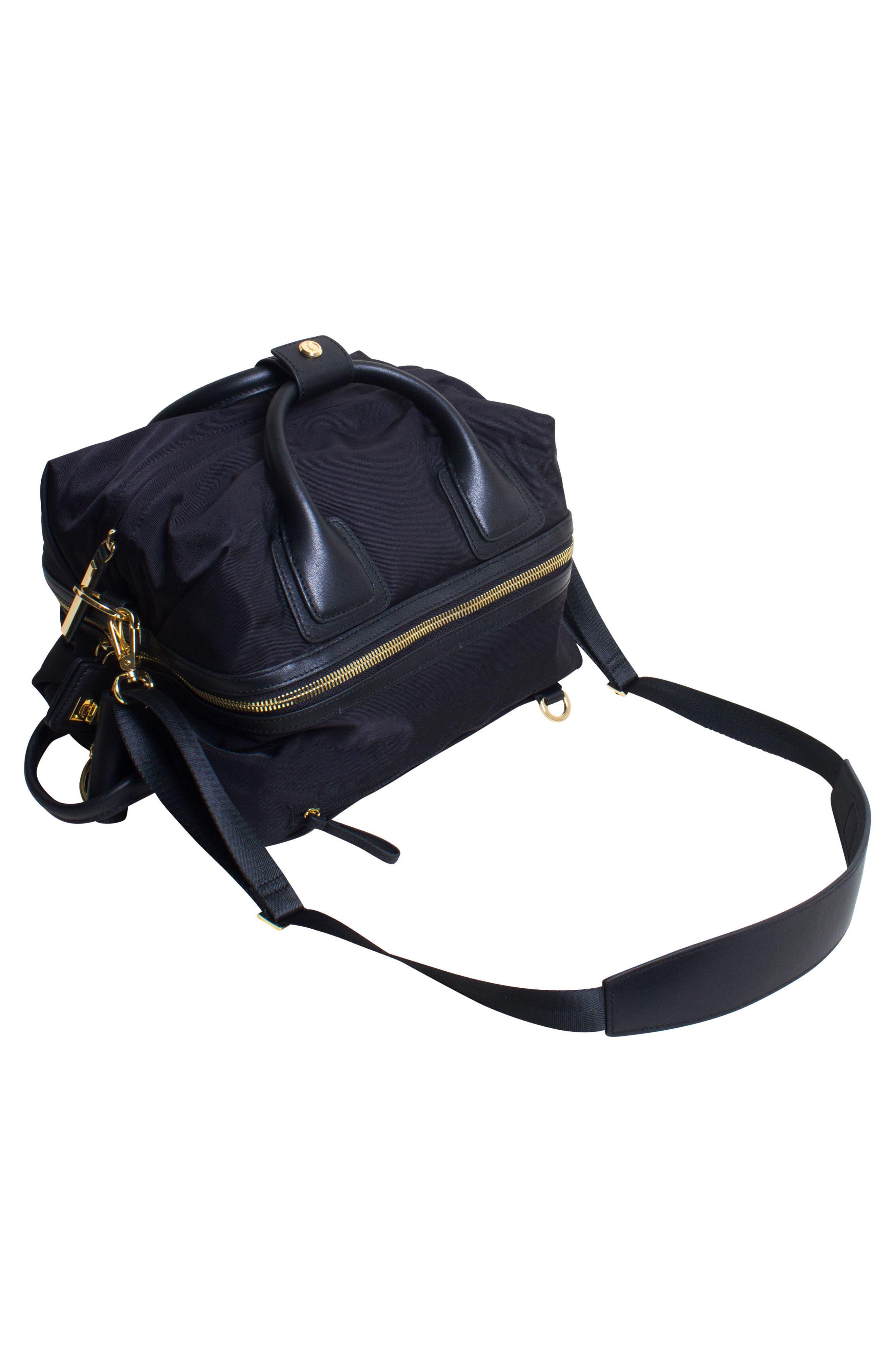 Studio Duffel Backpack,                             Alternate thumbnail 2, color,                             BLACK/ GOLD