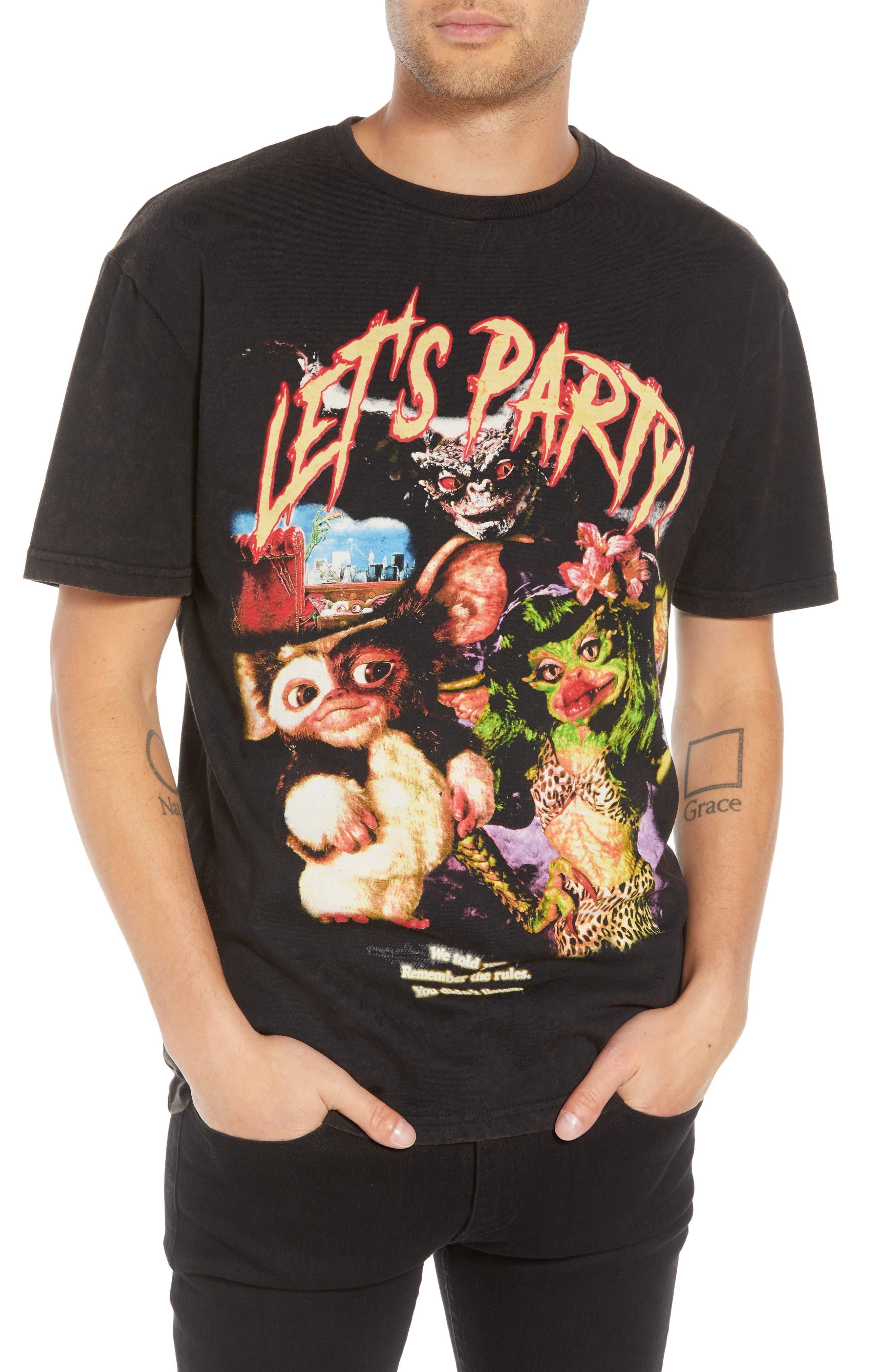 ELEVENPARIS Let'S Party Graphic T-Shirt in Black
