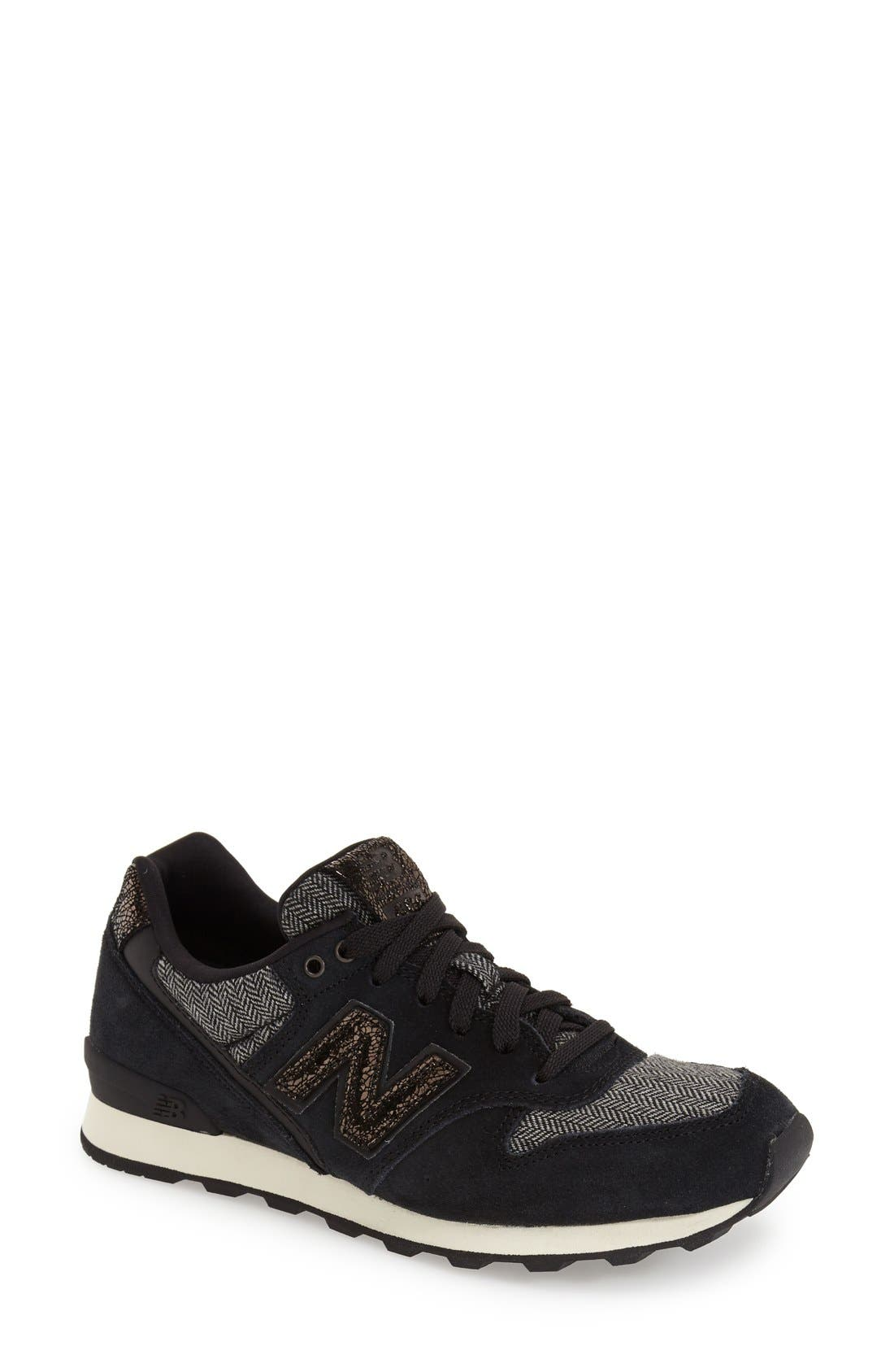 '696' Sneaker,                             Main thumbnail 1, color,                             001