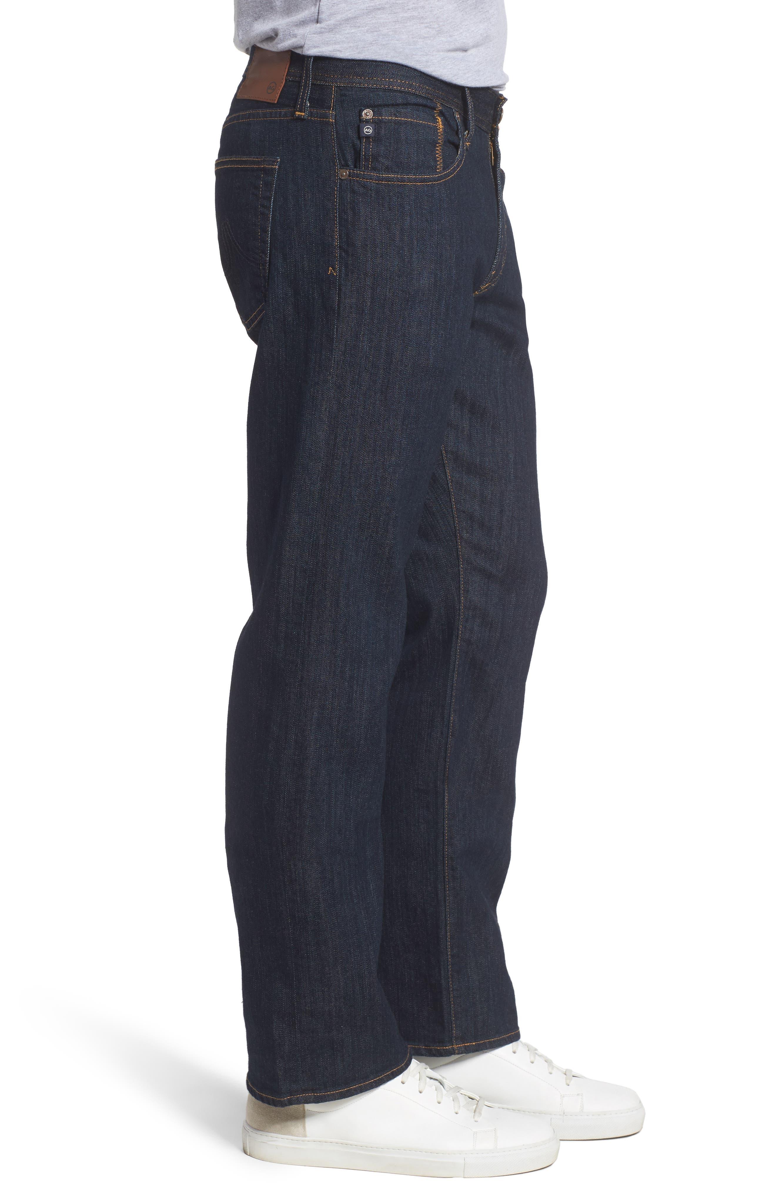 'Protégé' Straight Leg Jeans,                             Alternate thumbnail 3, color,                             016