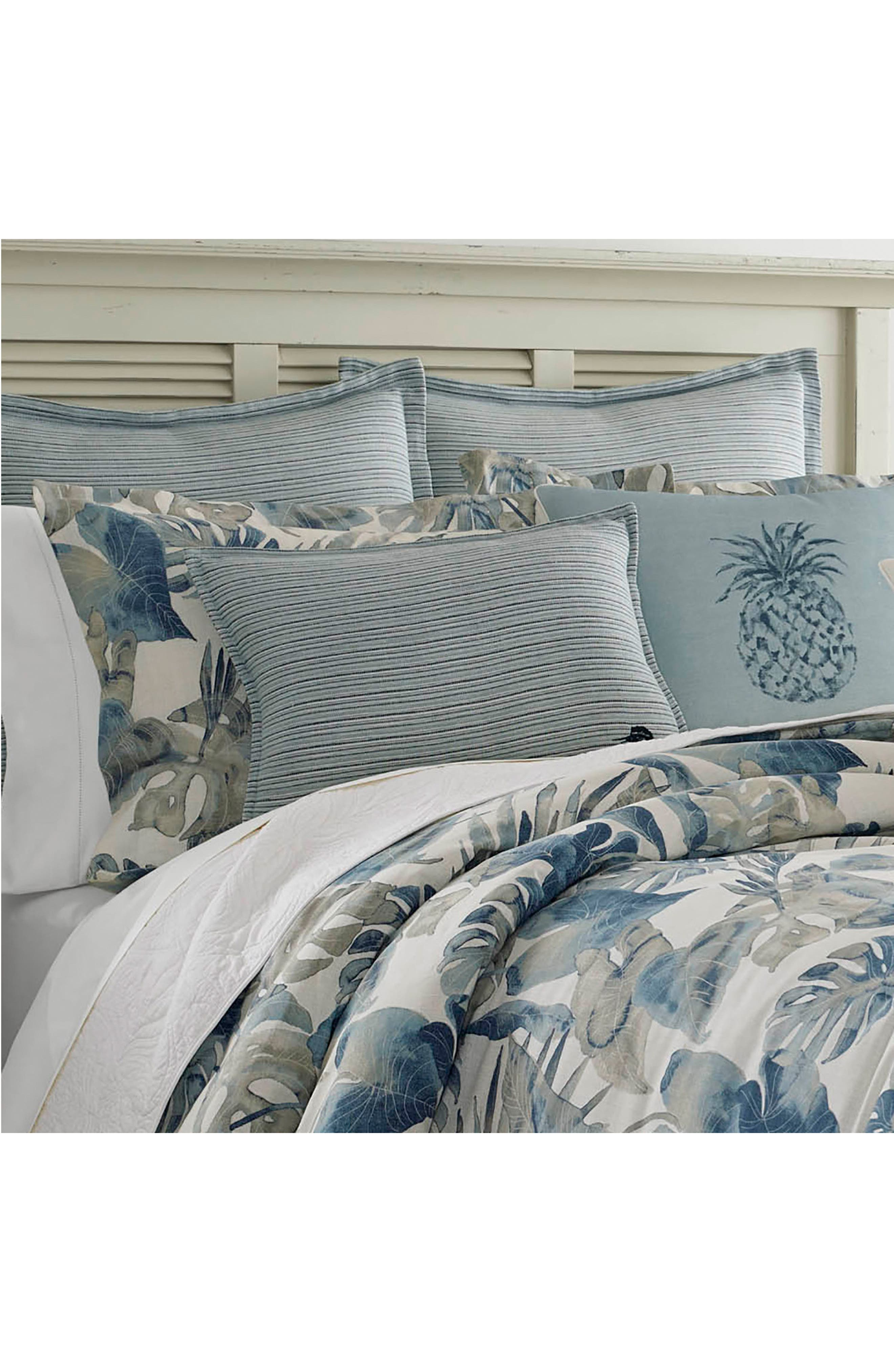TOMMY BAHAMA,                             Raw Coast Comforter, Sham & Bed Skirt Set,                             Alternate thumbnail 4, color,                             400