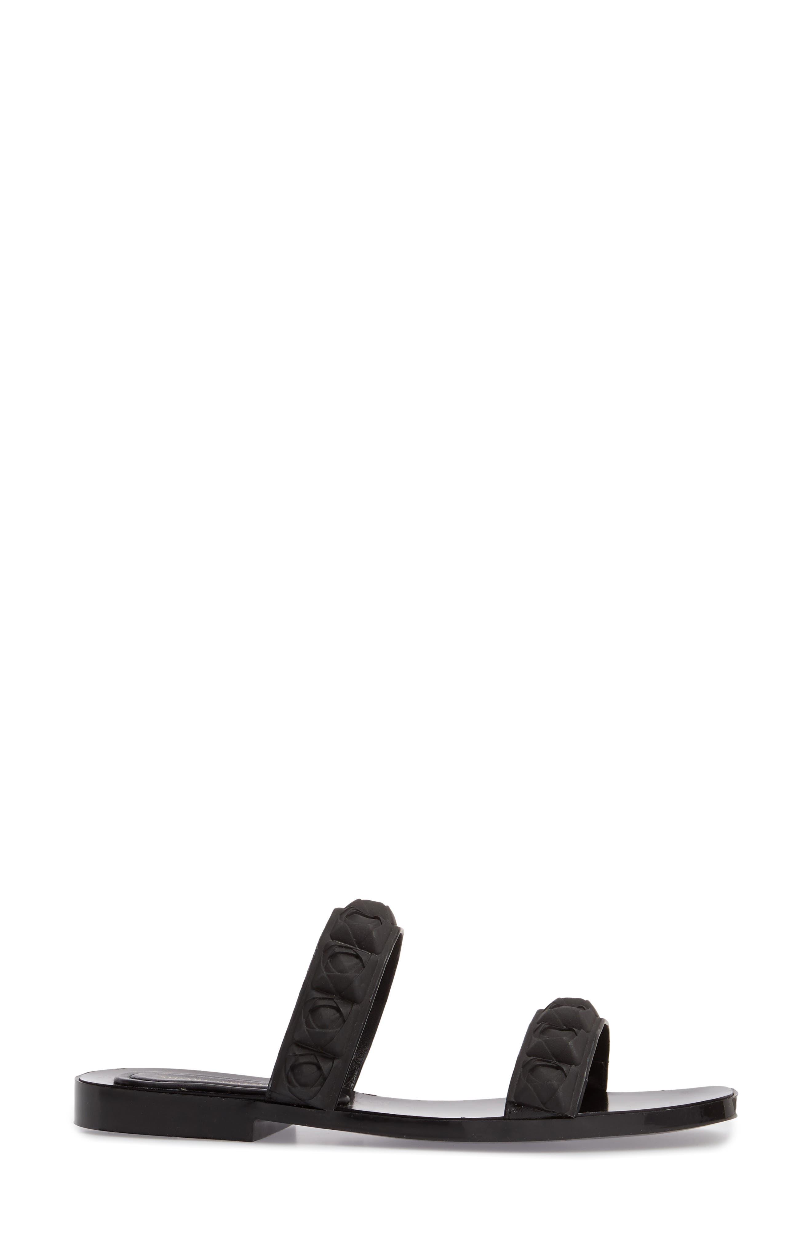 Rosita Dual Strap Slide Sandal,                             Alternate thumbnail 3, color,                             003