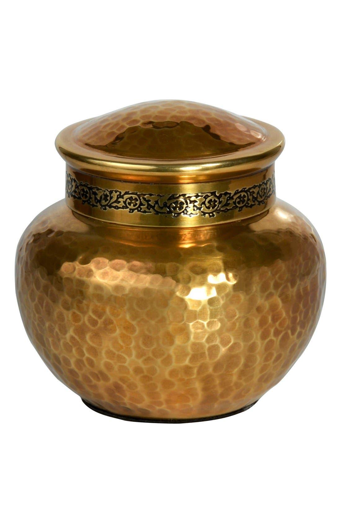 'Taxila' Small Jar with Lid,                             Main thumbnail 2, color,