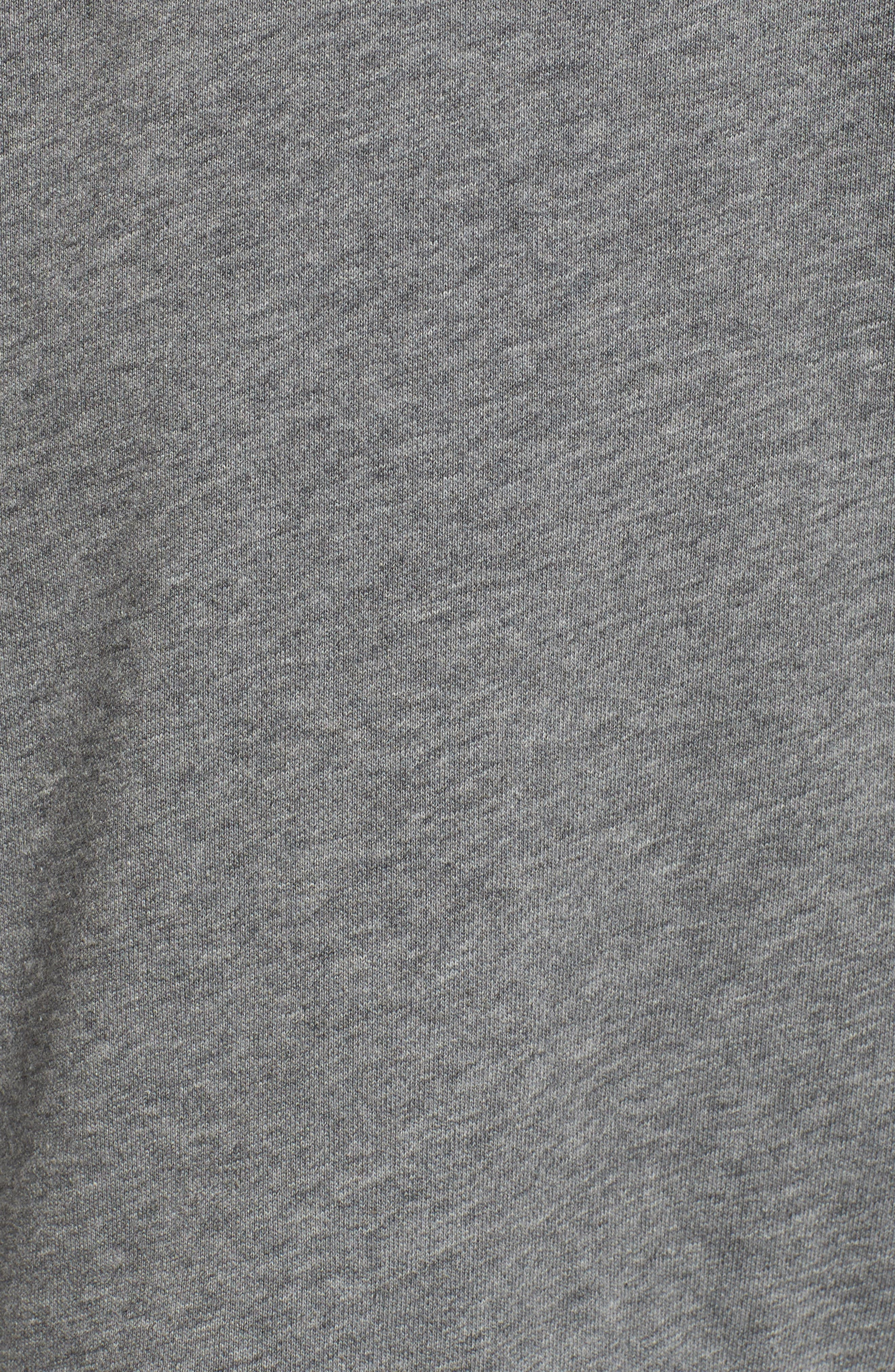 Ruffle Sweatshirt,                             Alternate thumbnail 9, color,