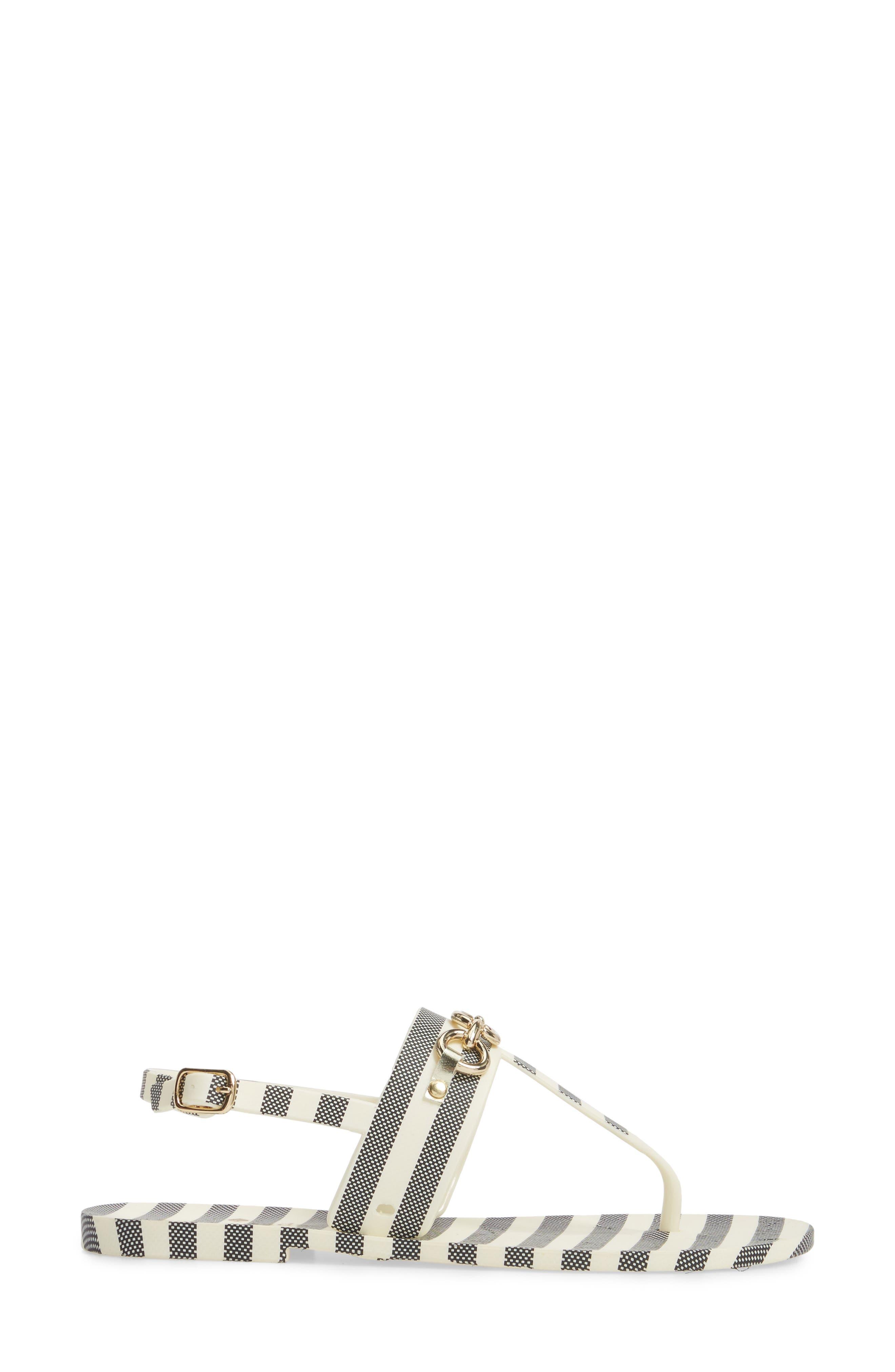 polly slingback sandal,                             Alternate thumbnail 3, color,                             012