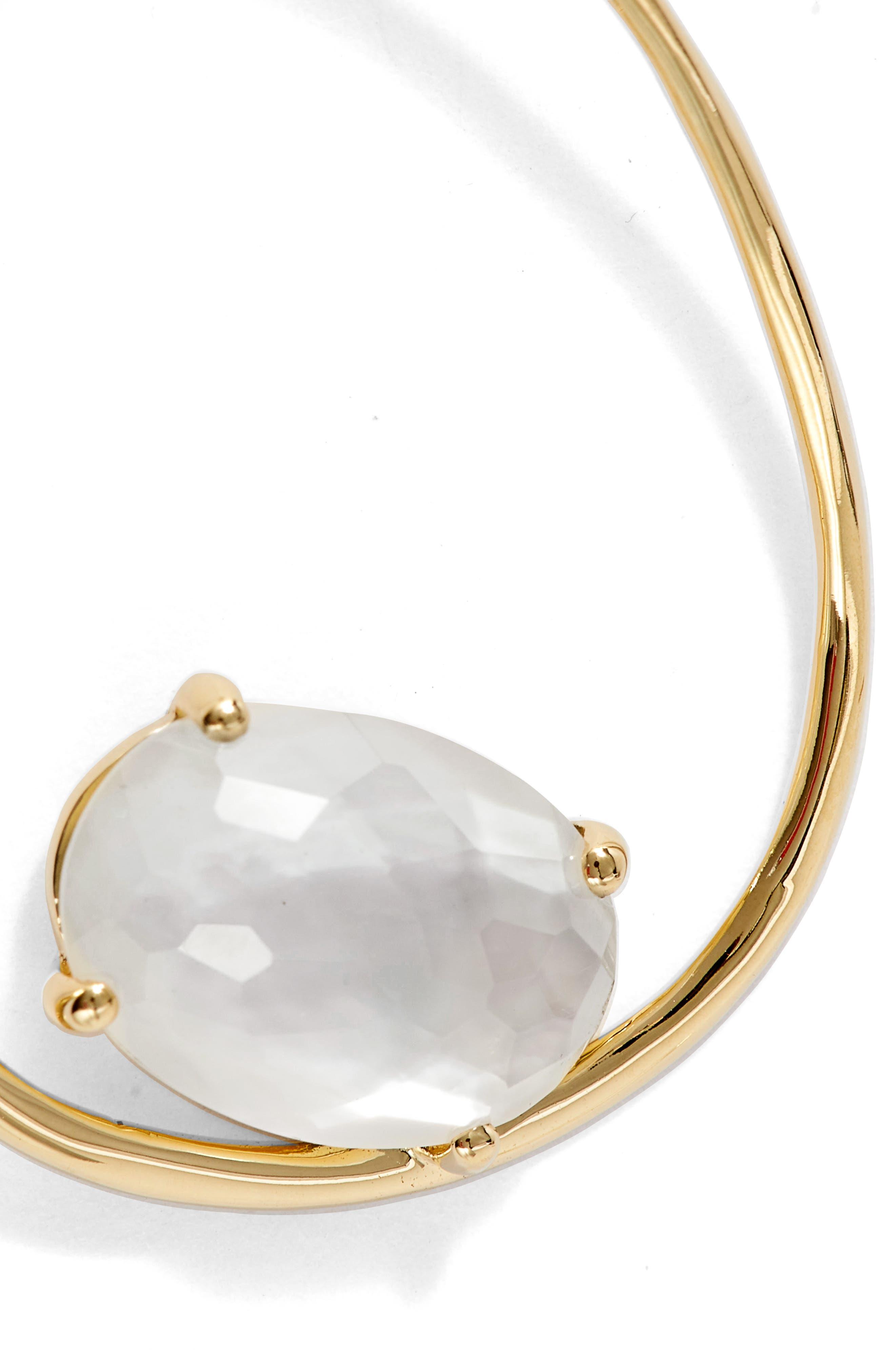 Rock Candy 18K Gold Large Drop Earrings,                             Alternate thumbnail 5, color,                             106