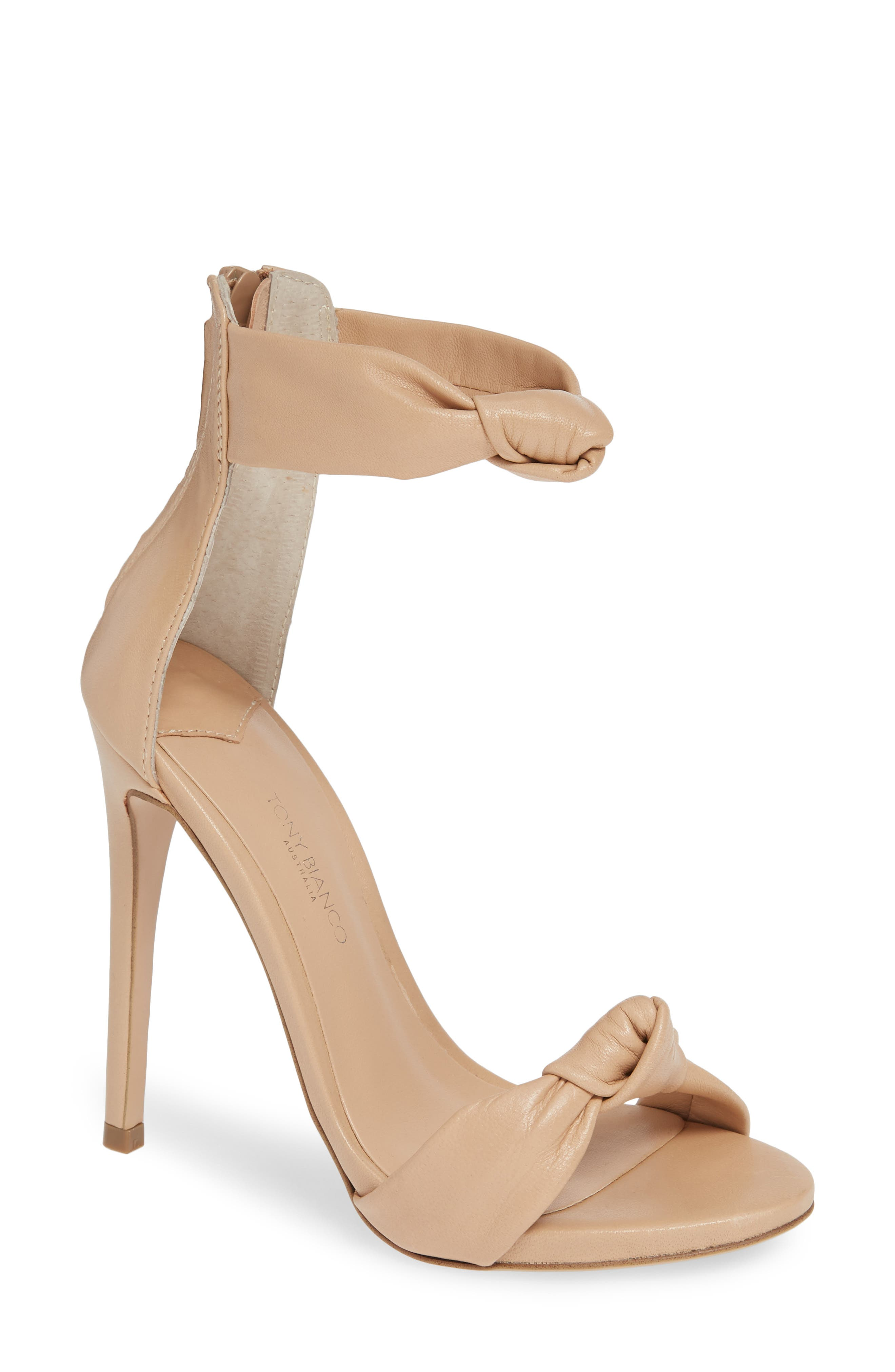 Anabelle Sandal,                         Main,                         color, BEIGE LEATHER