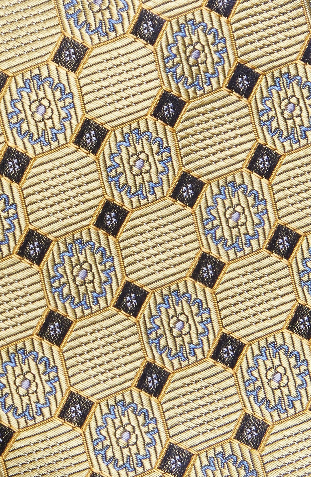 Medallion Silk Tie,                             Alternate thumbnail 9, color,