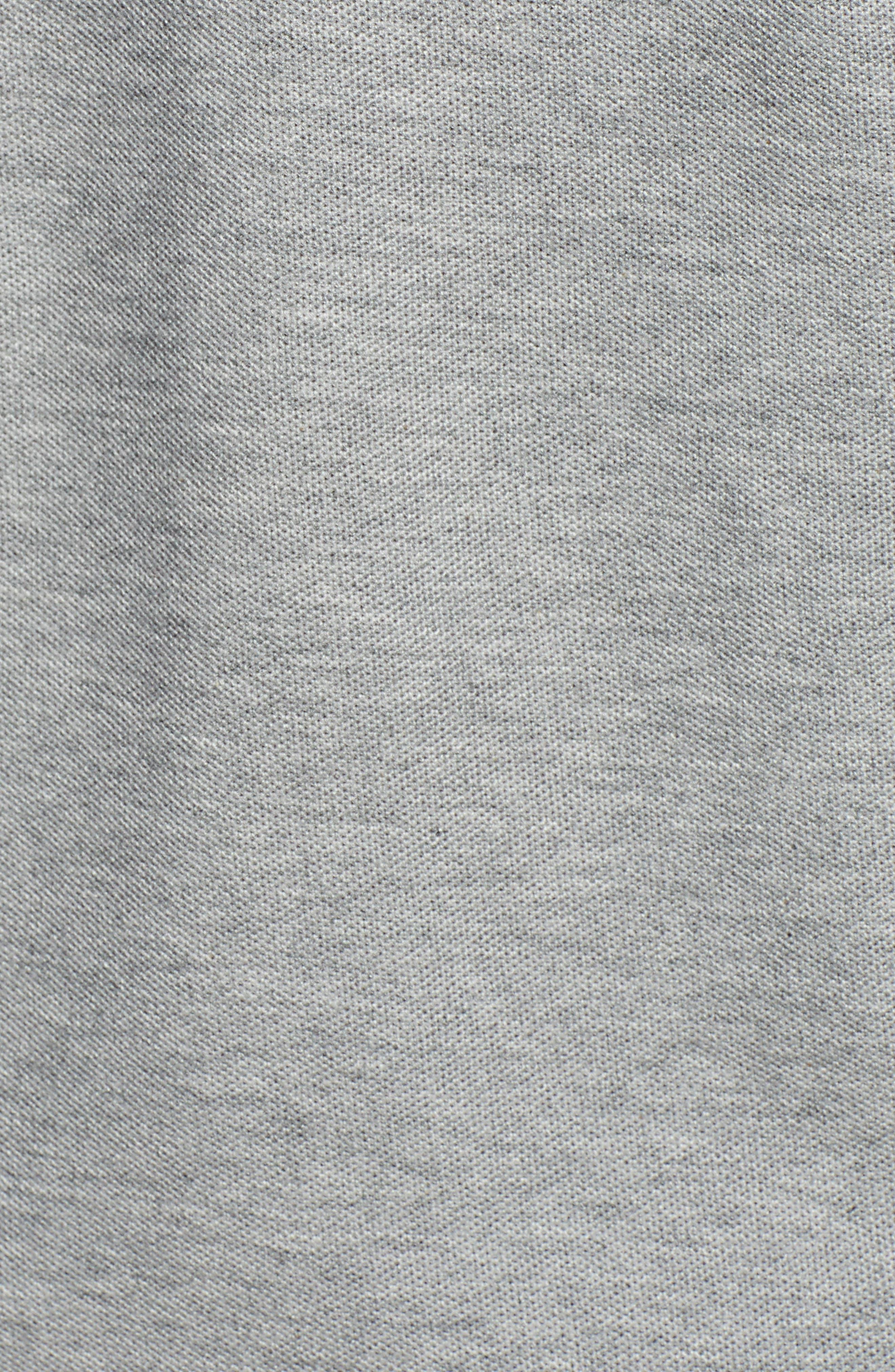 Checkered Collar Piqué Polo,                             Alternate thumbnail 5, color,                             020