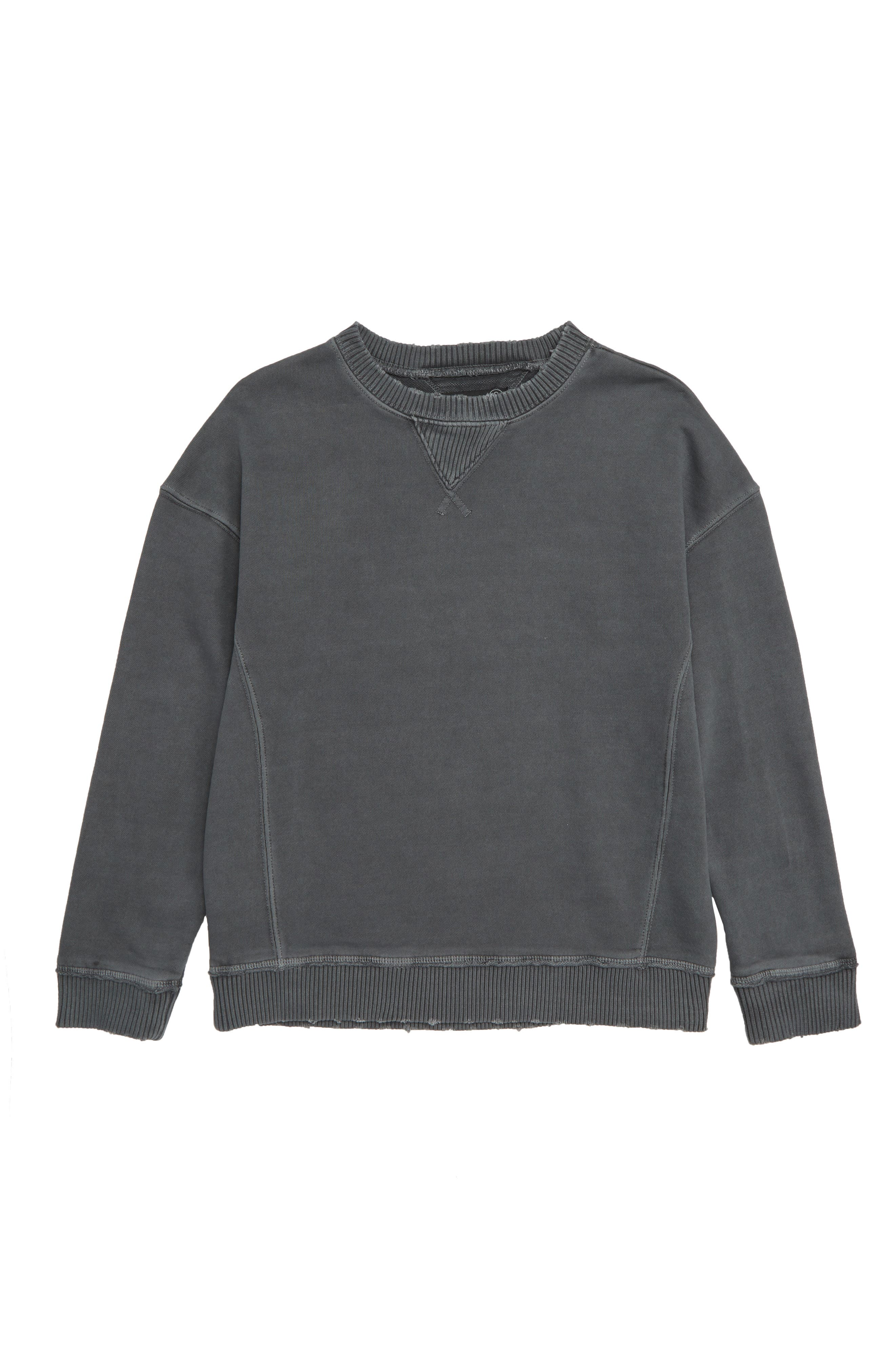Worn-In Sweatshirt,                             Main thumbnail 1, color,                             BLUE CHINOISE