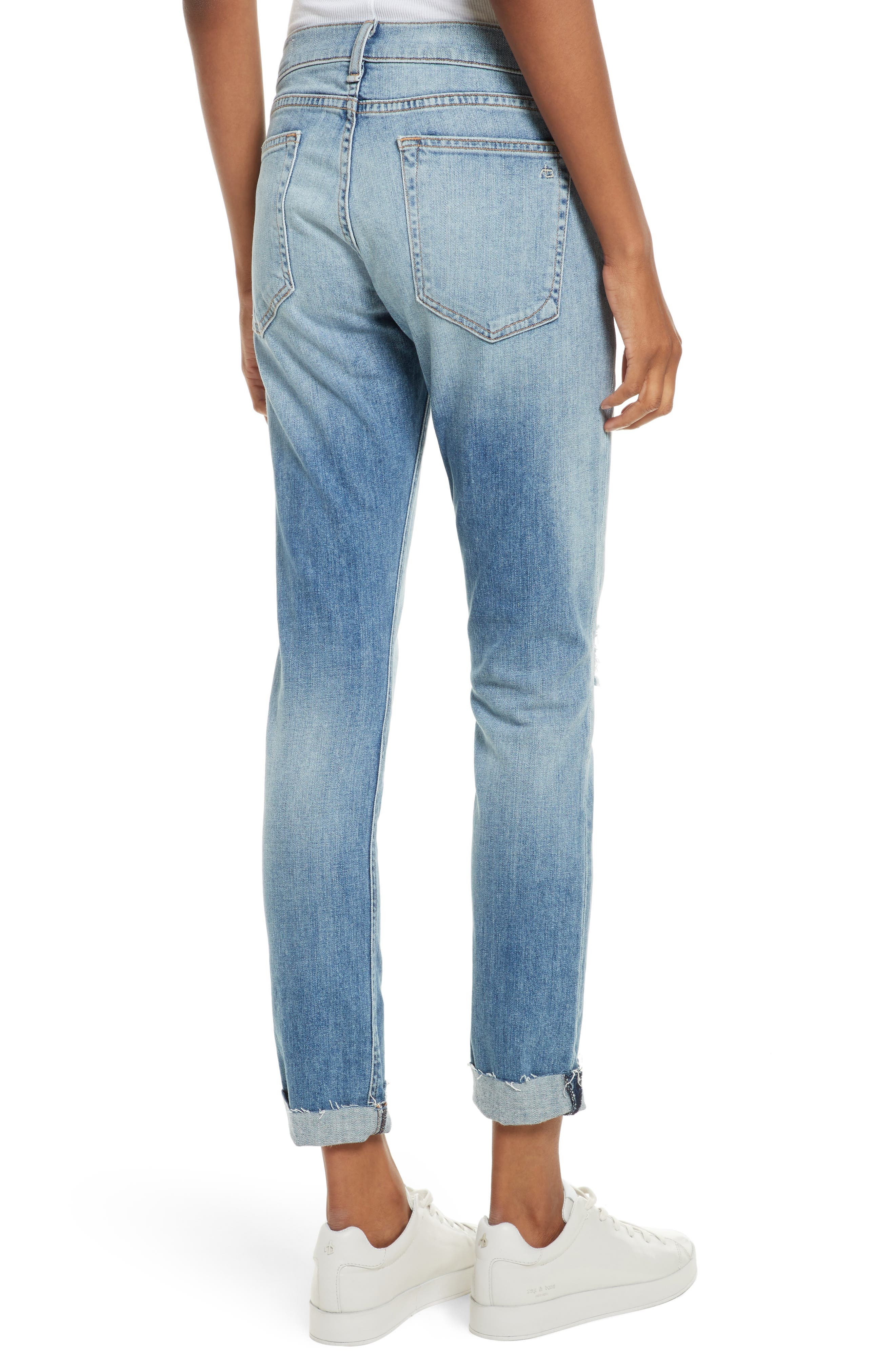 The Dre Slim Boyfriend Jeans,                             Alternate thumbnail 2, color,