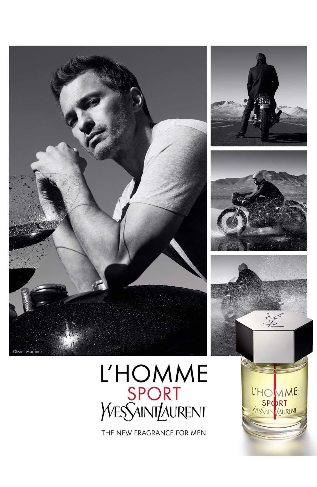 'L'Homme Sport' Eau de Toilette,                             Alternate thumbnail 3, color,