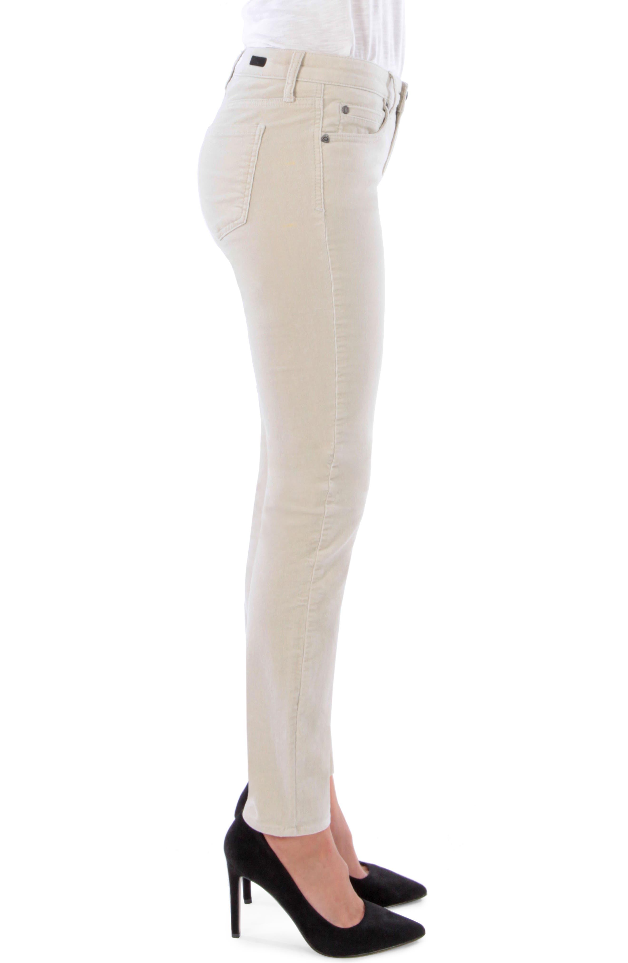 'Diana' Stretch Corduroy Skinny Pants,                             Alternate thumbnail 113, color,
