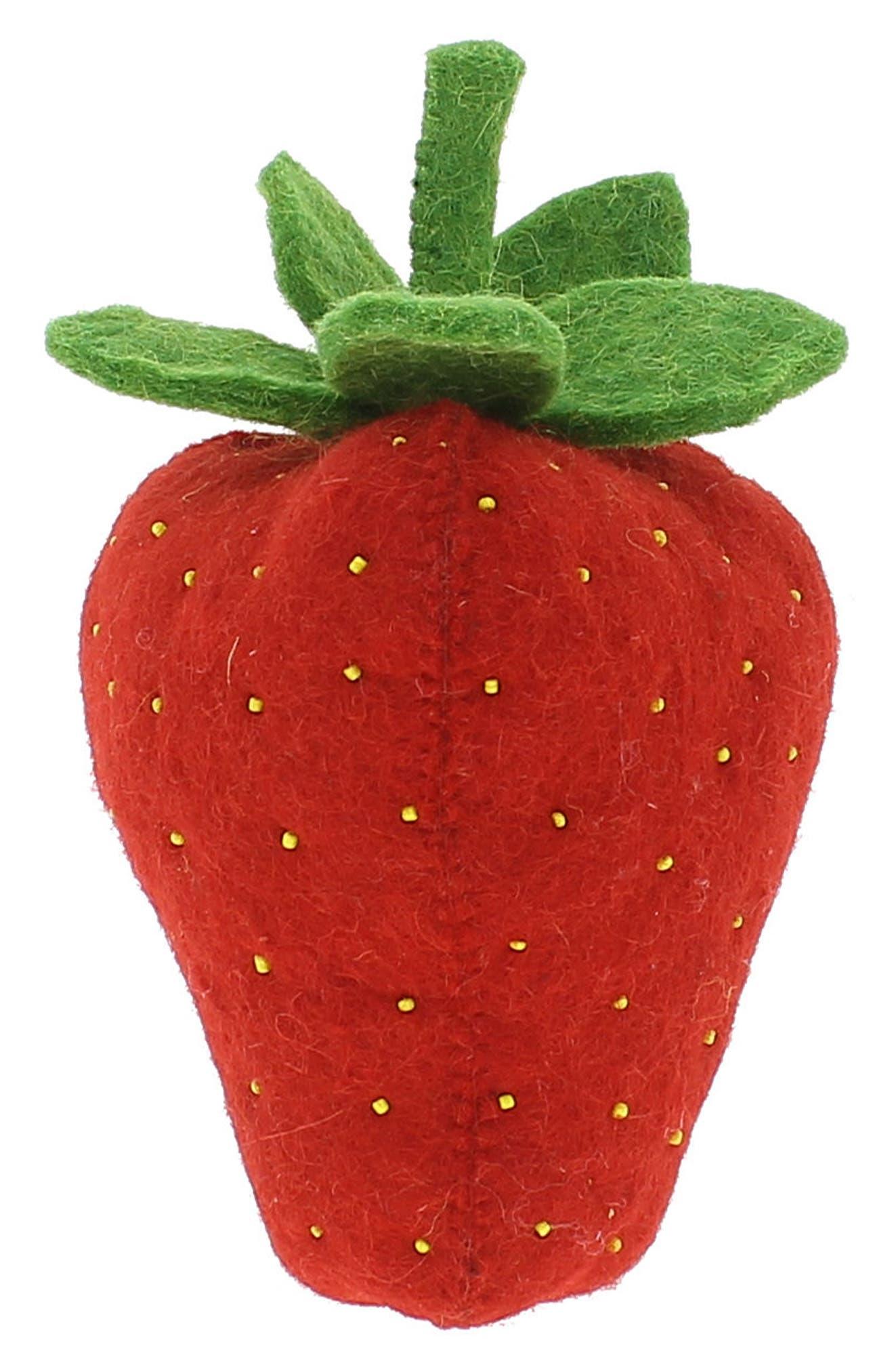 Strawberry Wall Decoration,                             Main thumbnail 1, color,                             600